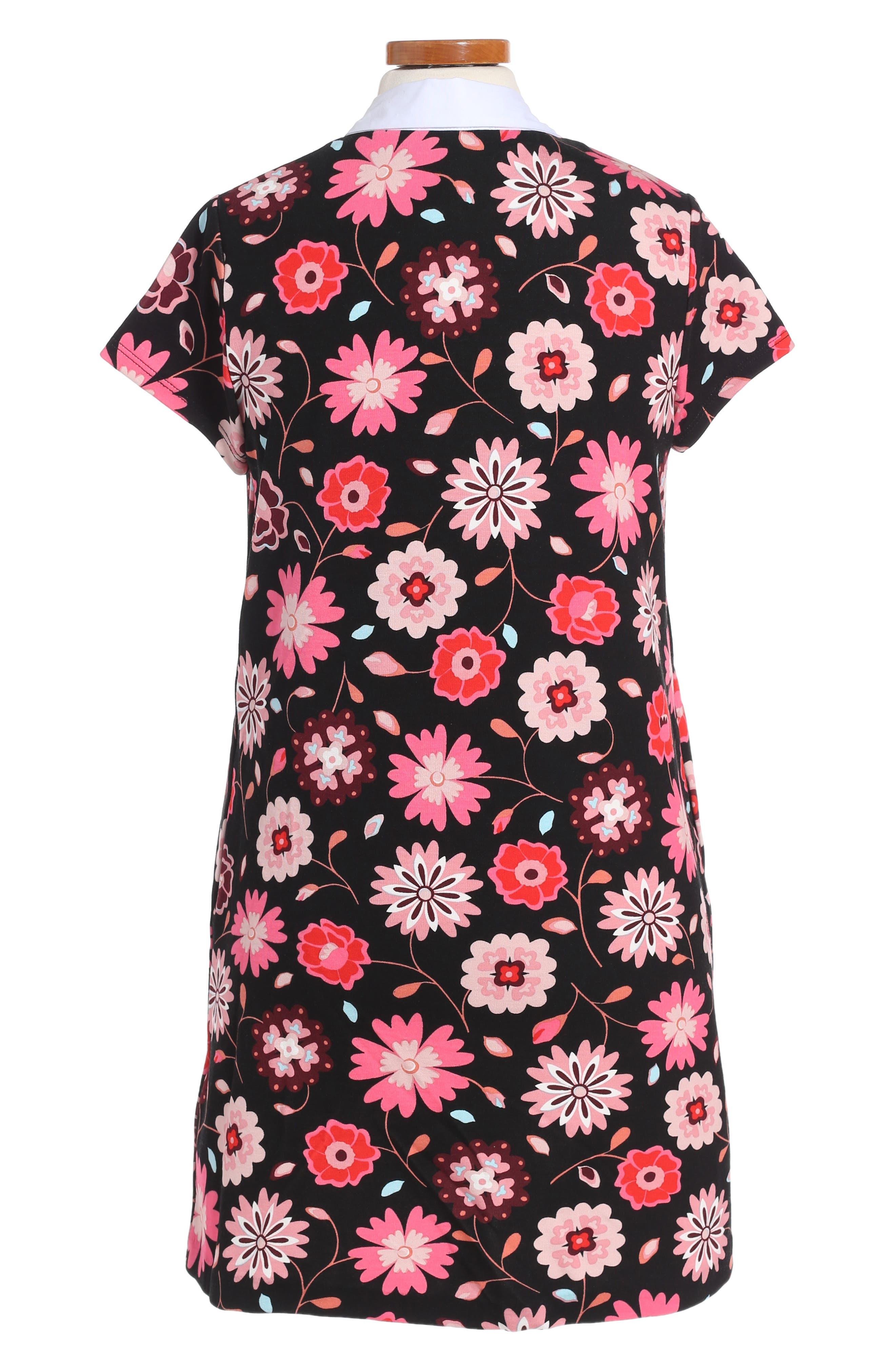 collared shift dress,                             Alternate thumbnail 2, color,                             010
