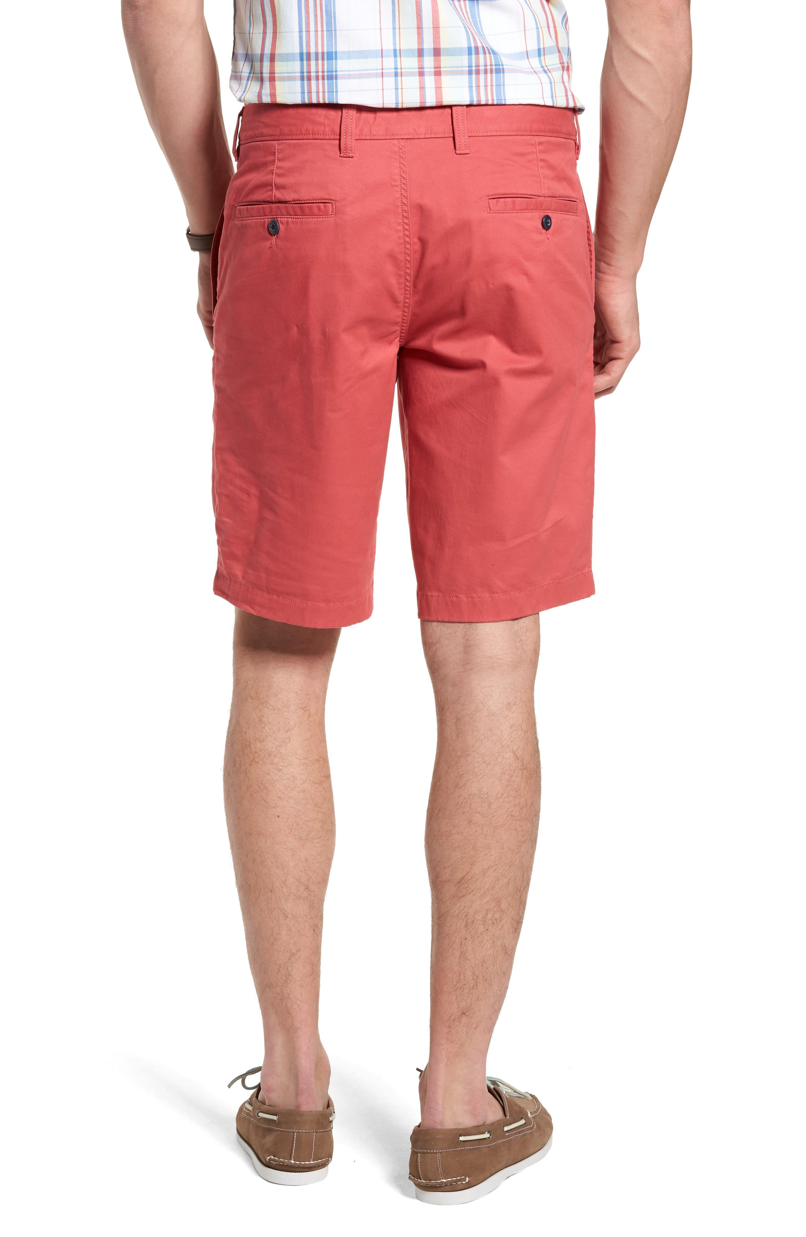 Ballard Slim Fit Stretch Chino 11-Inch Shorts,                             Alternate thumbnail 32, color,