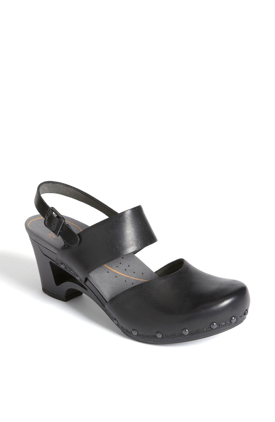 'Thea' Sandal,                         Main,                         color, 001