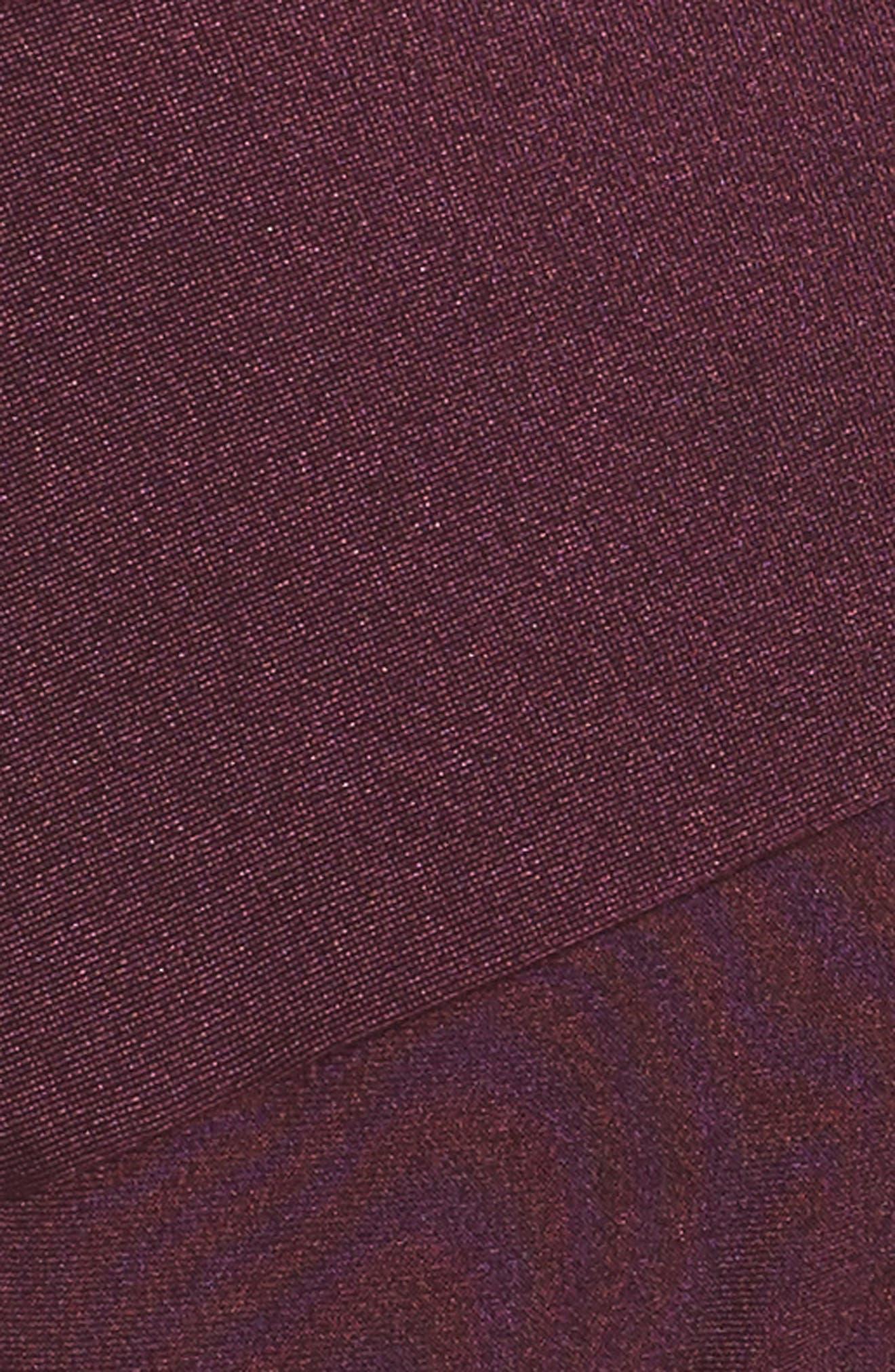 Ted Baker High Waisted Wrap Bikini Bottom,                             Alternate thumbnail 5, color,                             DEEP PURPLE