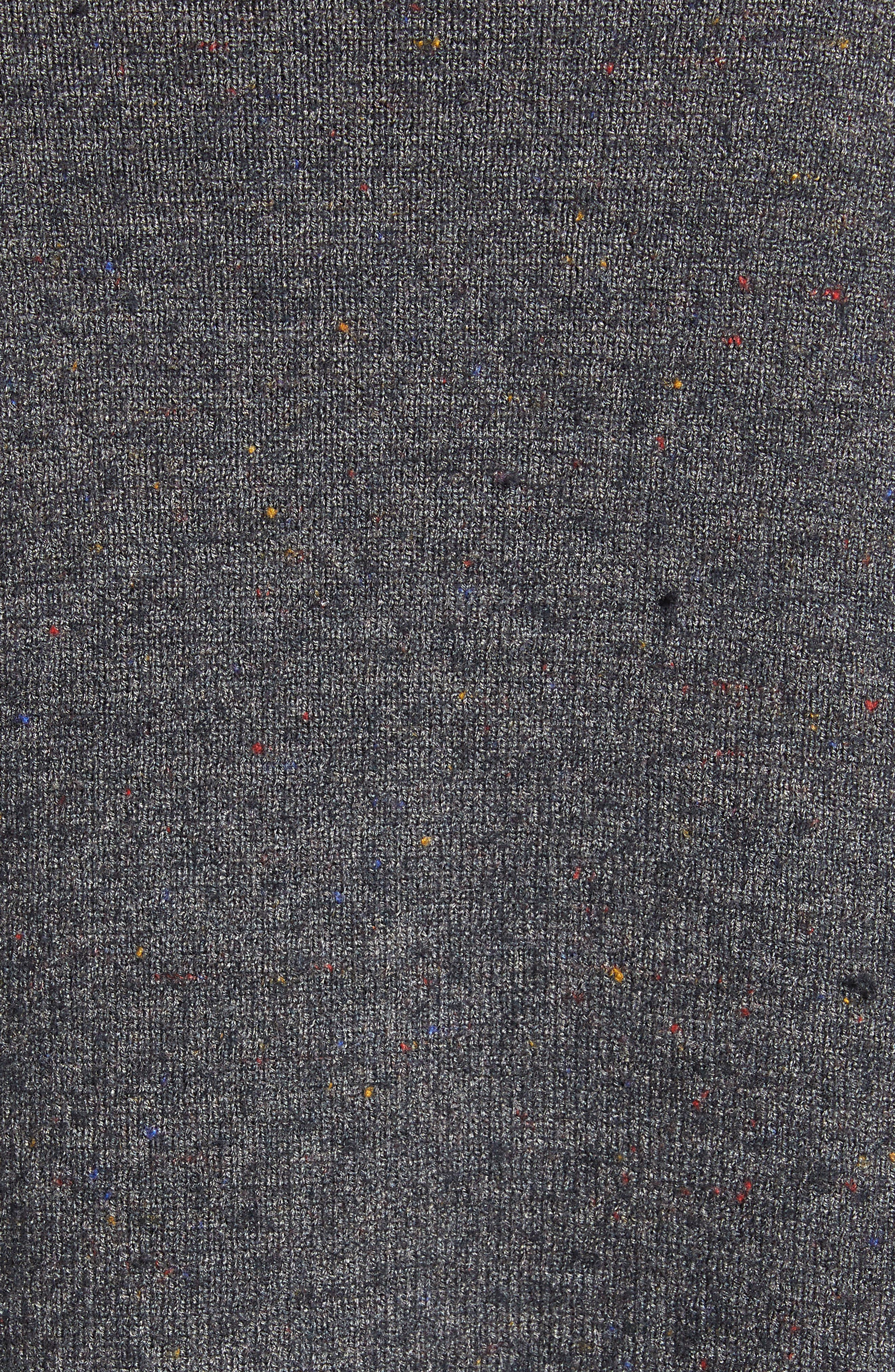 TREASURE & BOND,                             Boiled Wool Blend Long Cardigan,                             Alternate thumbnail 5, color,                             030