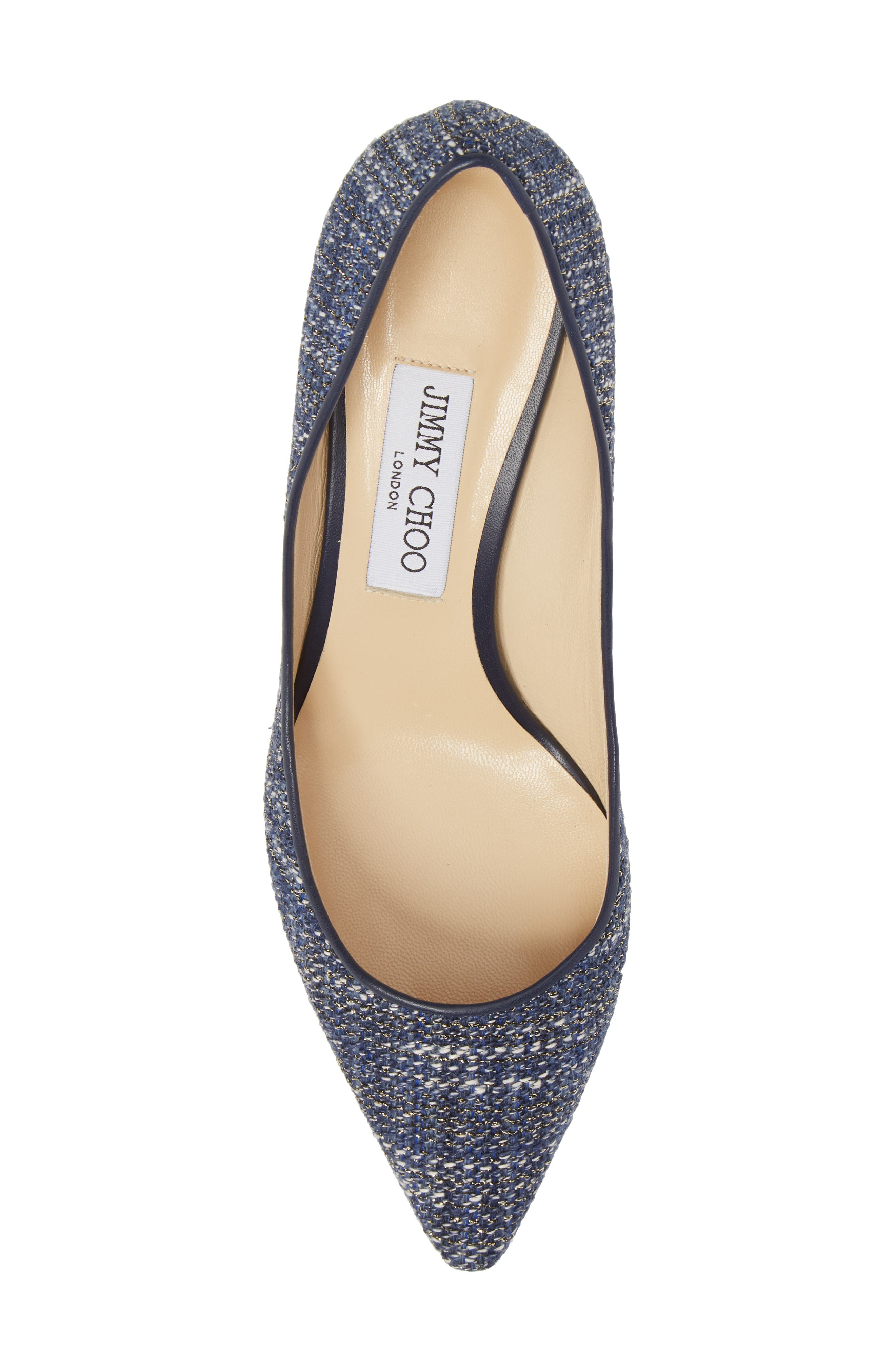 Romy Woven Pointy Toe Pump,                             Alternate thumbnail 5, color,                             410
