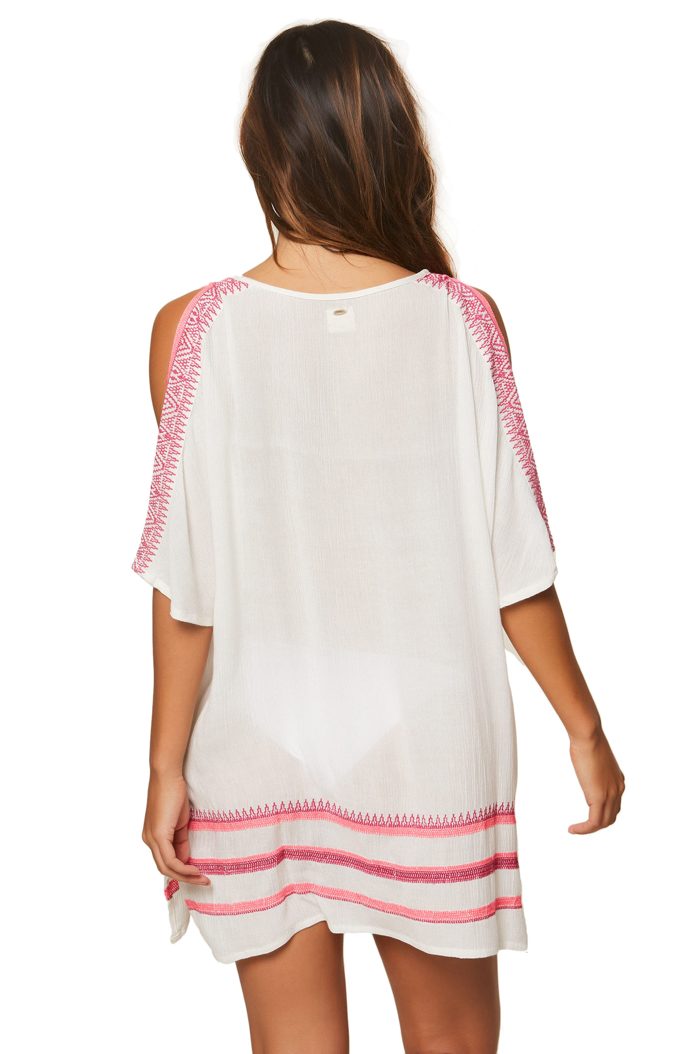 Aurora Cold Shoulder Cover-Up Tunic,                             Alternate thumbnail 2, color,                             121