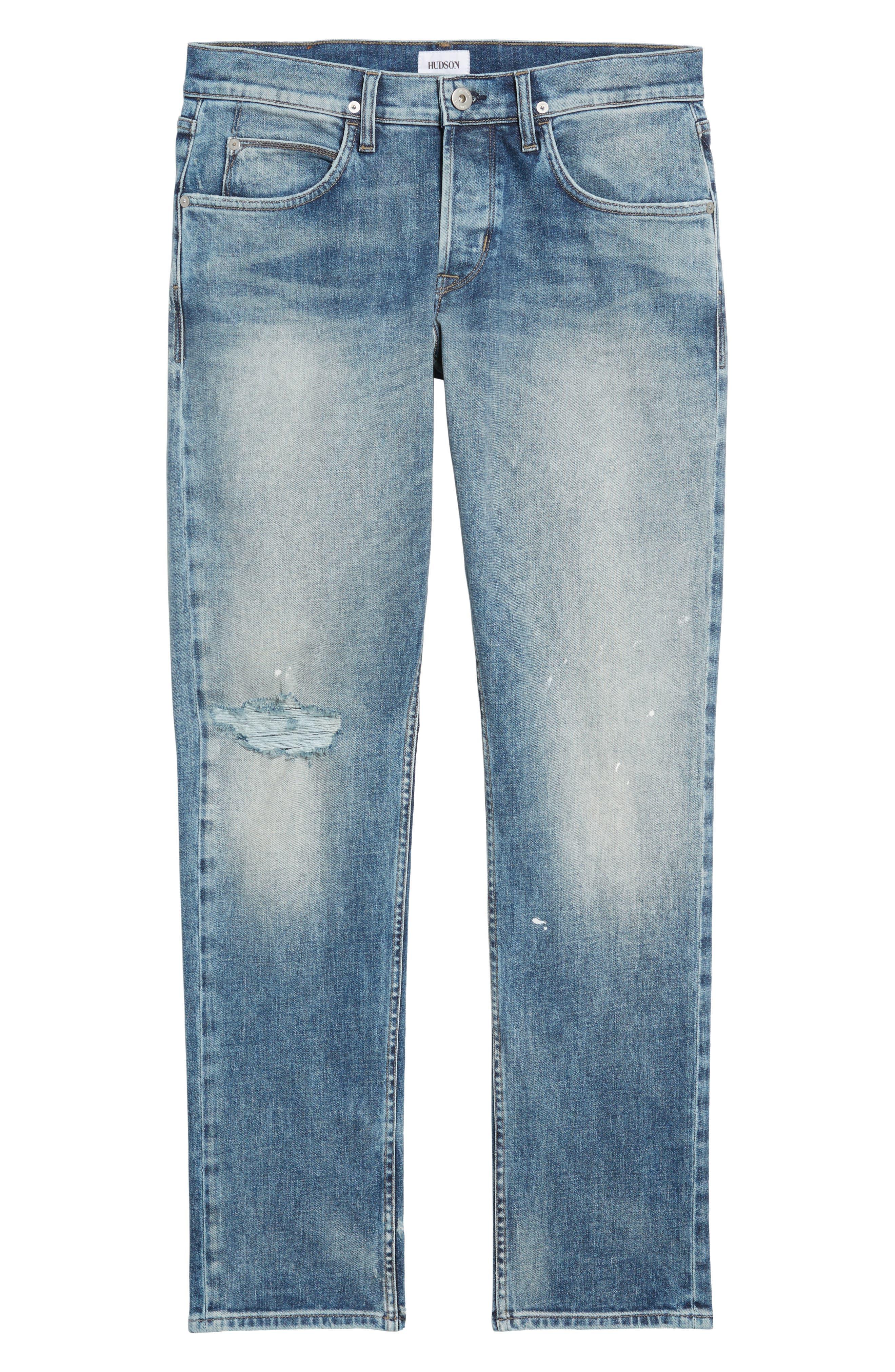 Blake Slim Fit Jeans,                             Alternate thumbnail 6, color,                             451