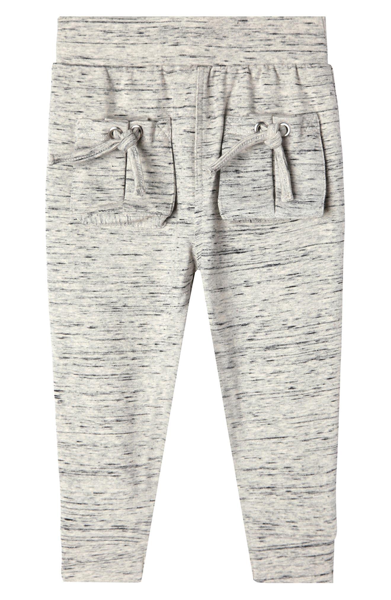 Aubrey Mélange Sweatpants,                         Main,                         color, MIDNIGHT MELANGE