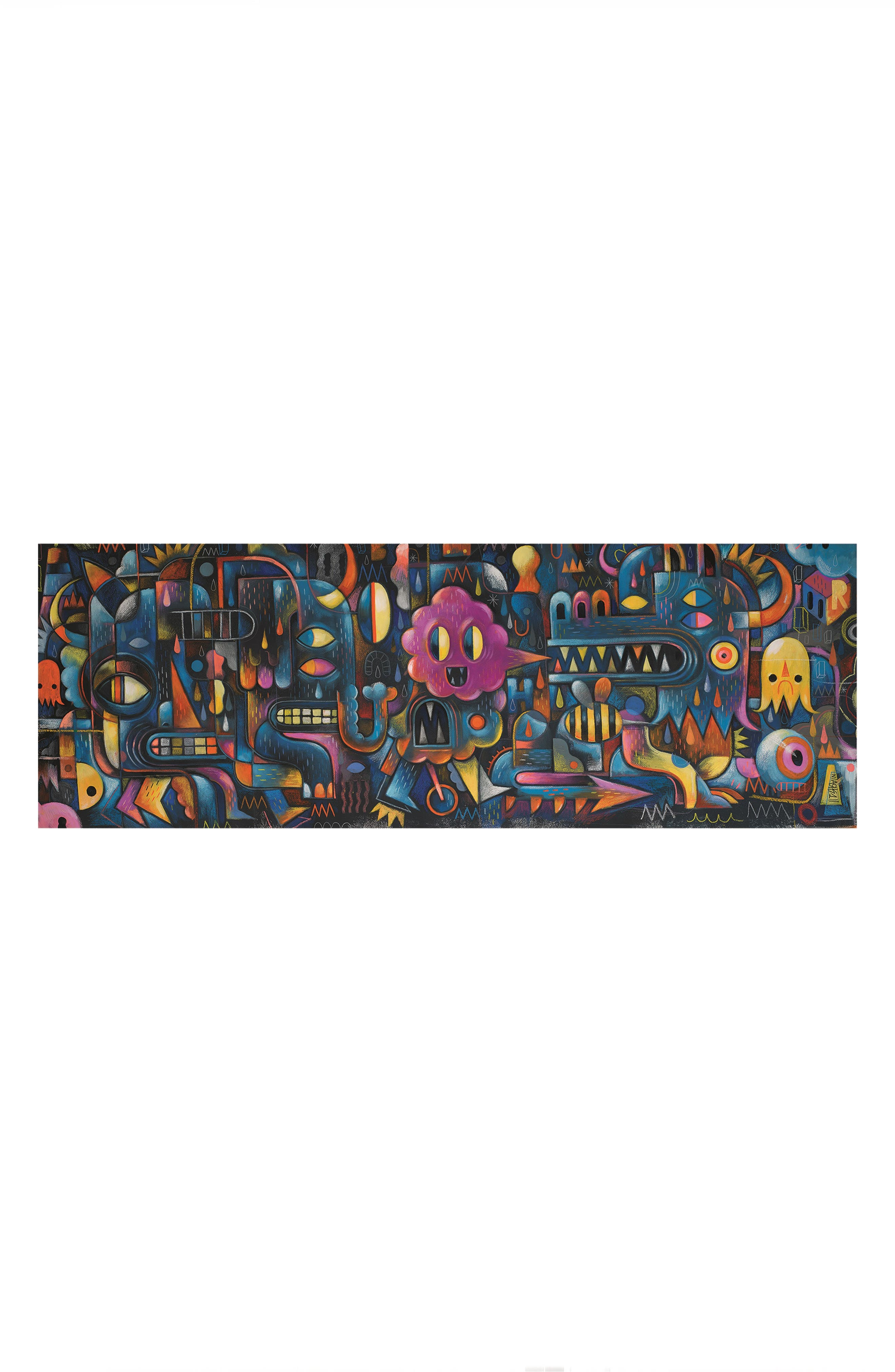 Djeco Monster Wall Jigsaw Puzzle