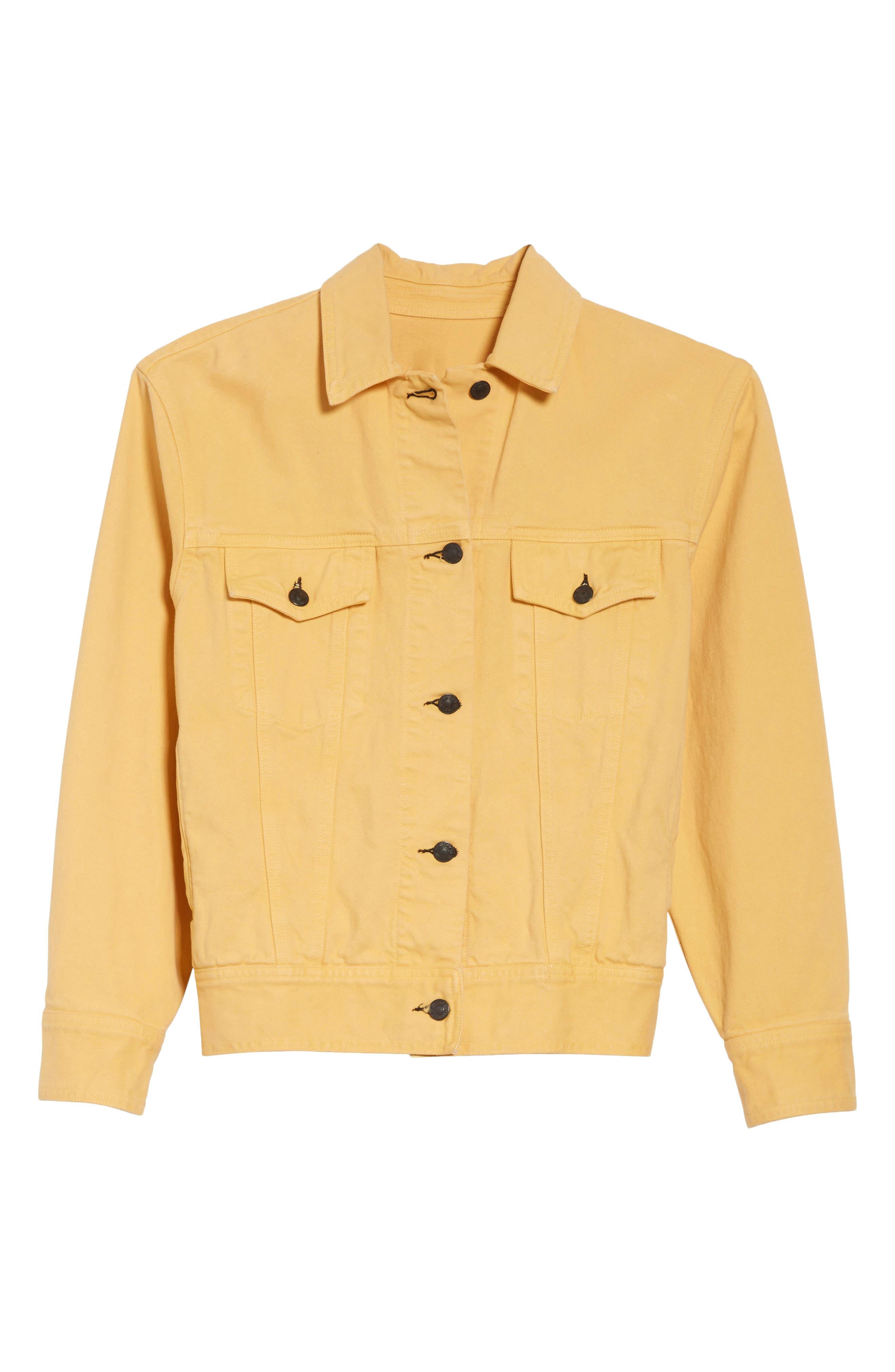 rag & bone Oversize Twill Jacket,                             Alternate thumbnail 5, color,