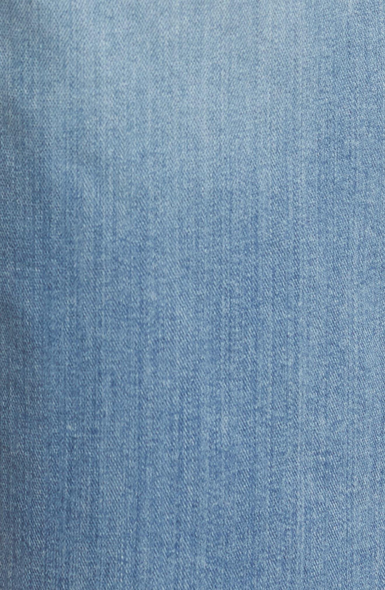Transcend - Federal Slim Straight Leg Denim Shorts,                             Alternate thumbnail 5, color,                             400
