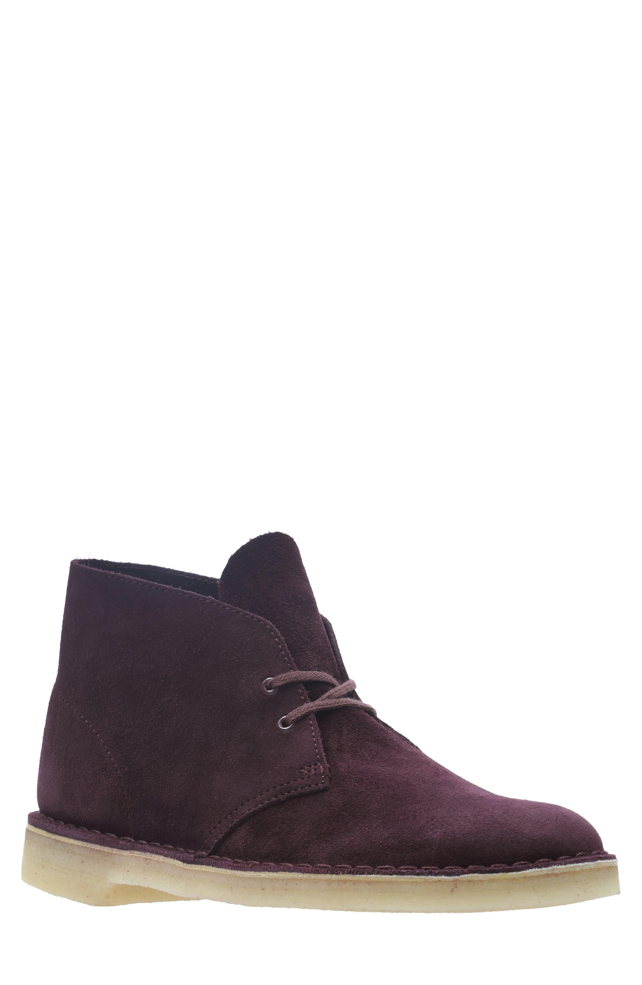 'Desert' Boot,                         Main,                         color, BORDEAUX/BORDEAUX SUEDE