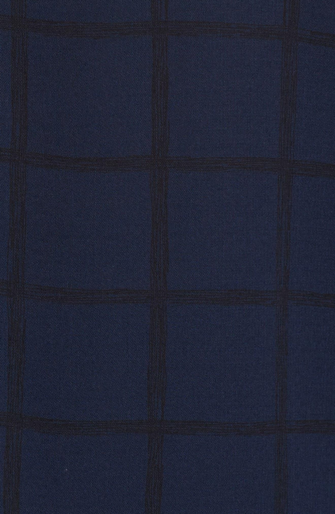Bateau Neck Silk Top,                             Alternate thumbnail 5, color,