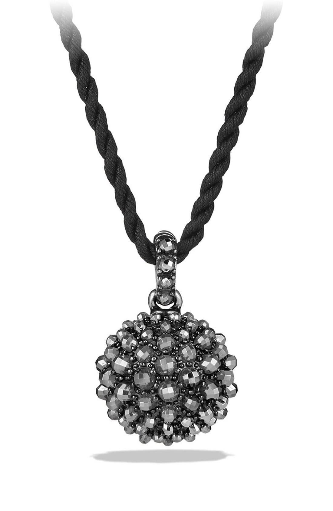 Cable Berries Pendant Necklace,                             Main thumbnail 1, color,                             001