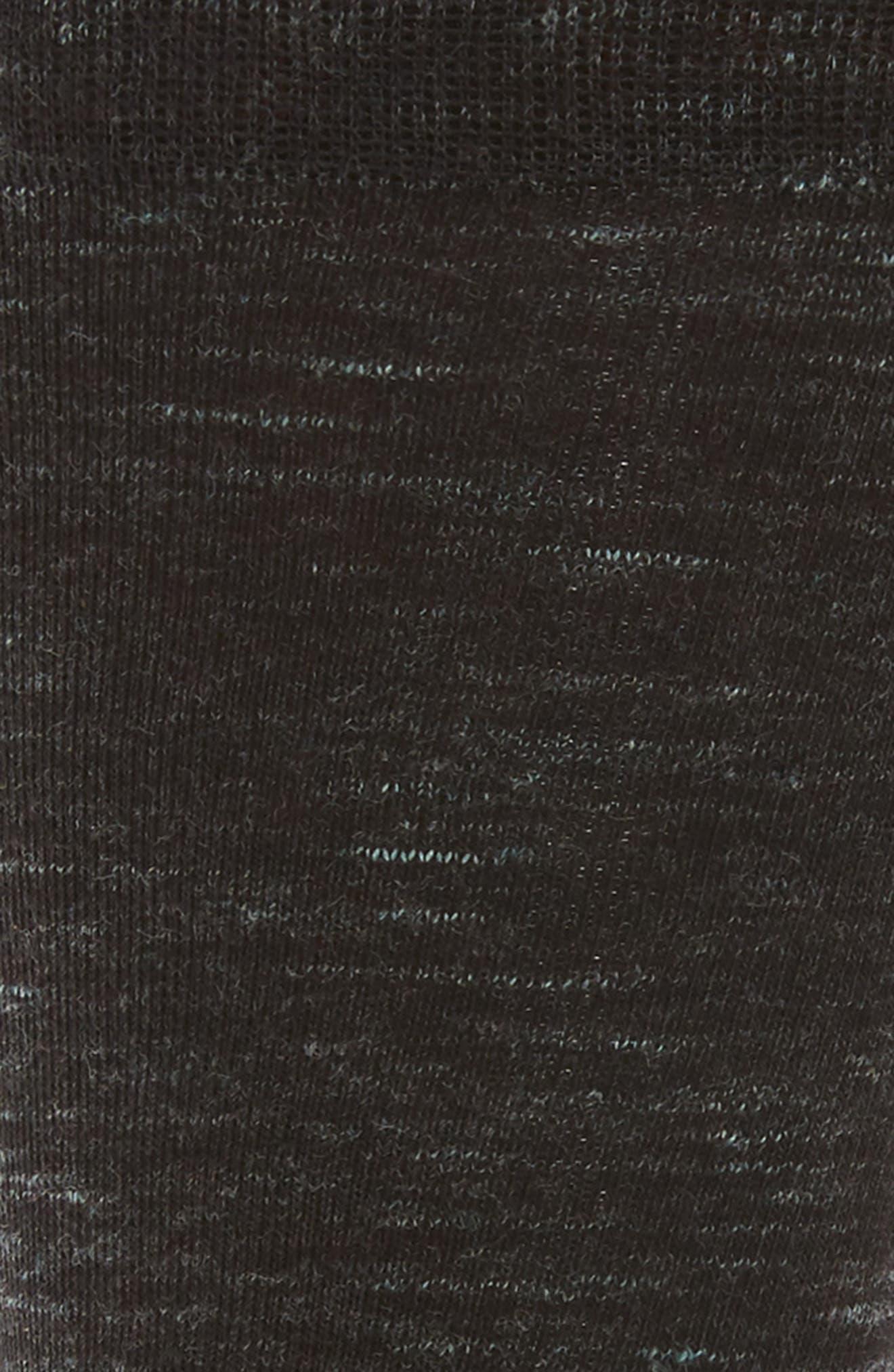 Twist Socks,                             Alternate thumbnail 2, color,                             BLACK