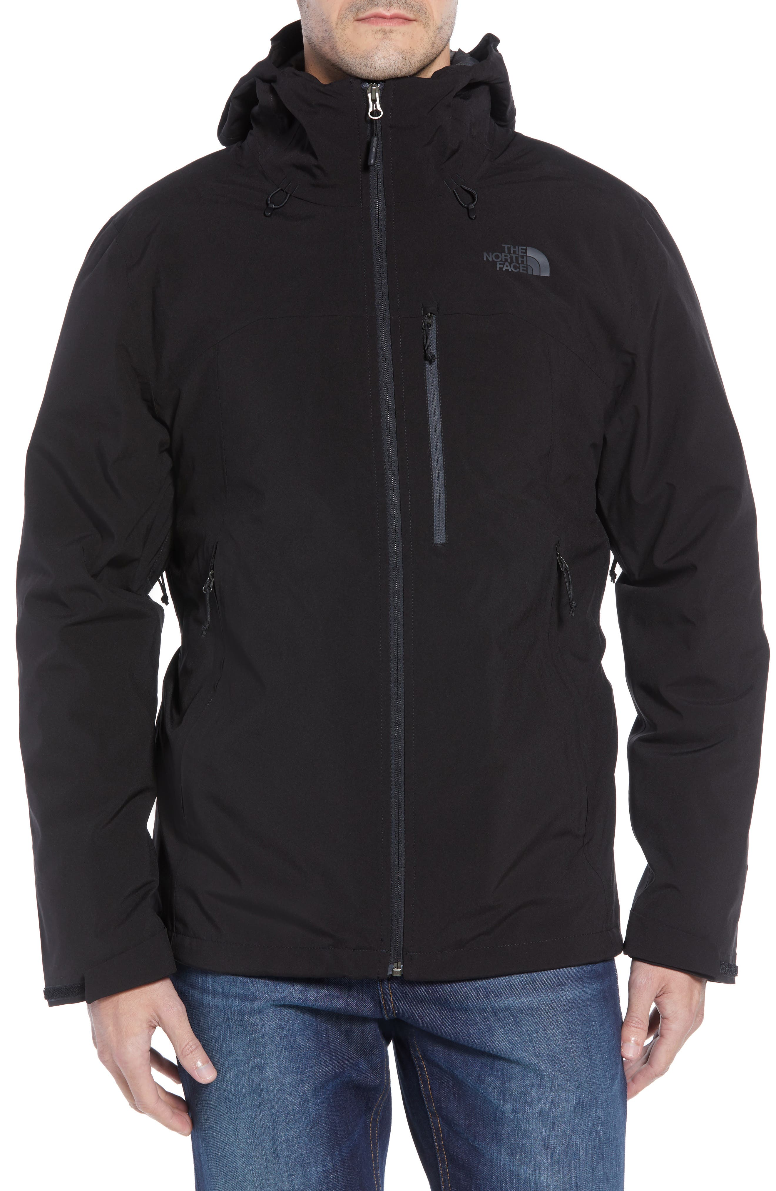 ThermoBall TriClimate<sup>®</sup> 3-in-1 Jacket,                             Alternate thumbnail 5, color,                             TNF BLACK/TNF BLACK