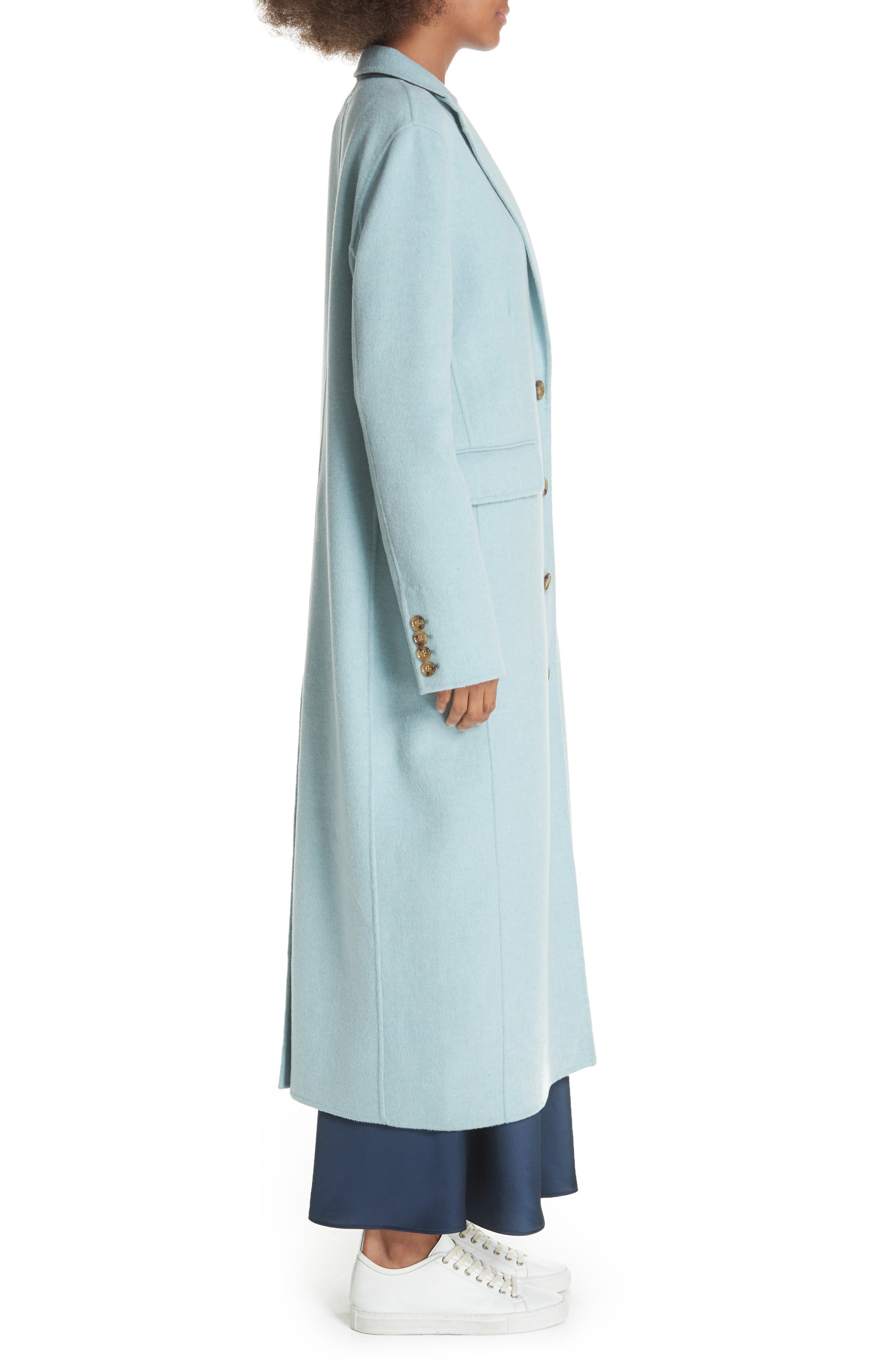 ELIZABETH AND JAMES,                             Russell Wool Blend Coat,                             Alternate thumbnail 3, color,                             400