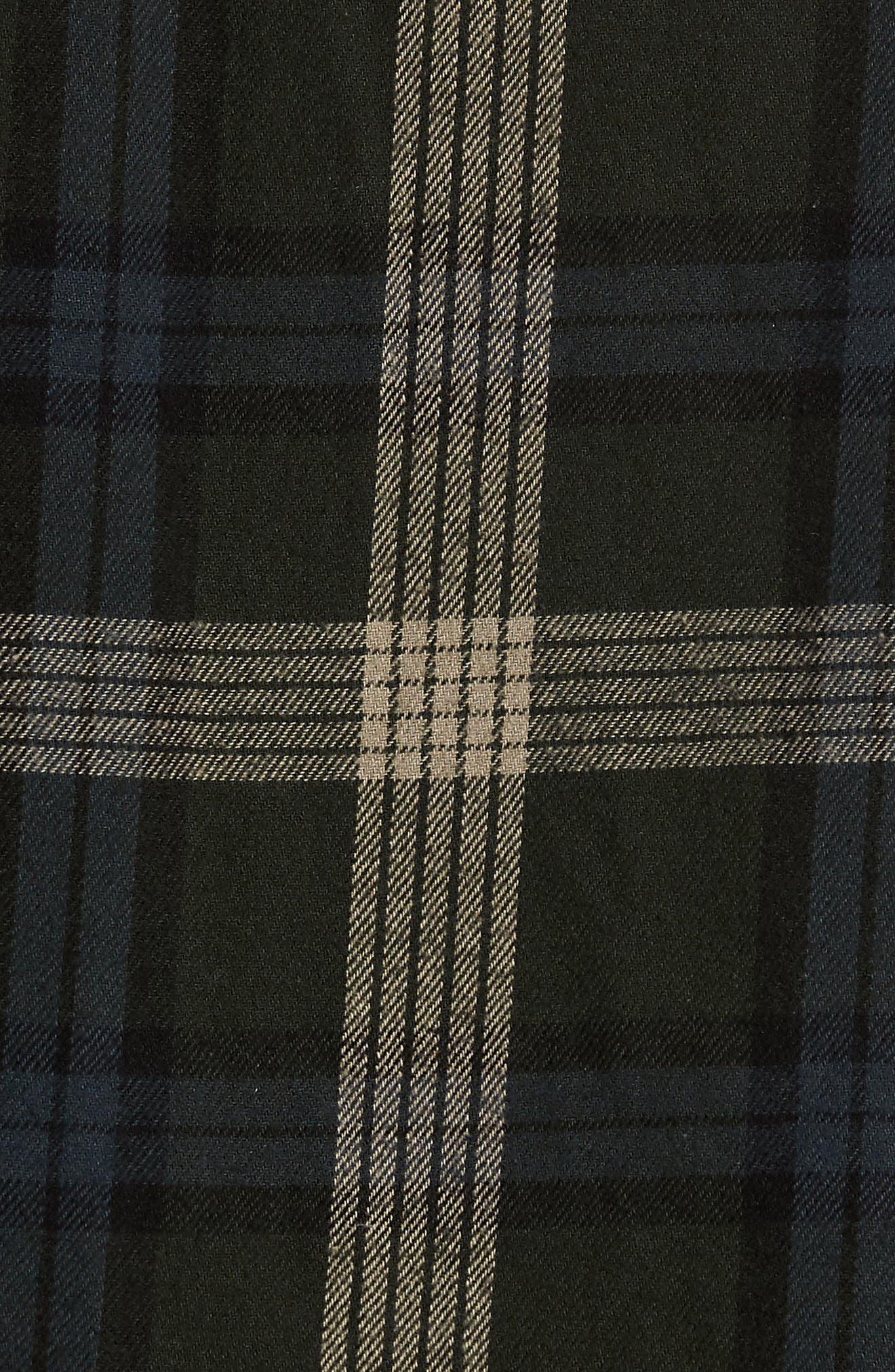 Flanigan Woven Shirt,                             Alternate thumbnail 5, color,                             SHADOW