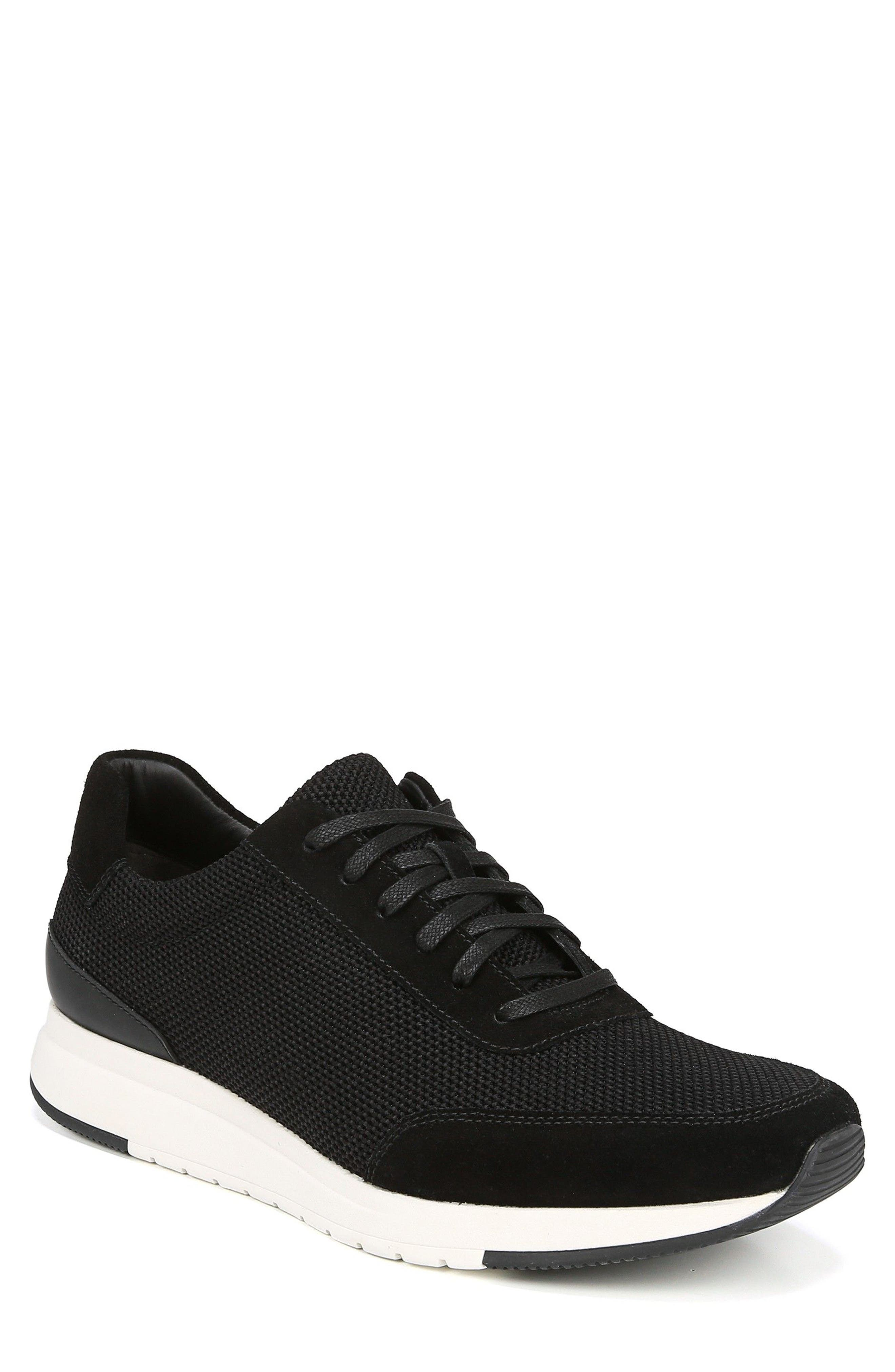 Payton Mesh Sneaker,                         Main,                         color, BLACK