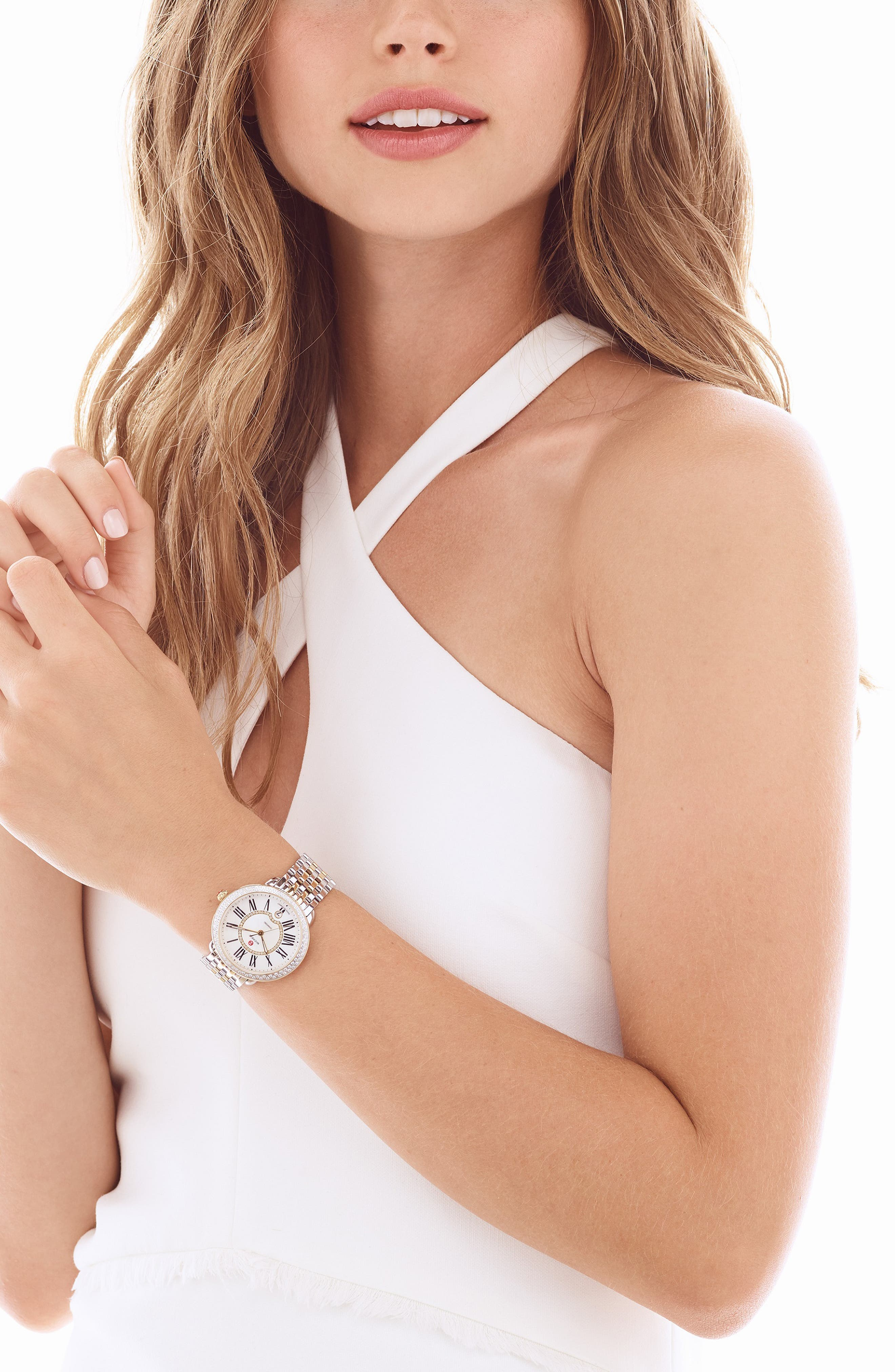 Serein 16 Diamond Watch Case, 34mm x 36mm,                             Alternate thumbnail 9, color,