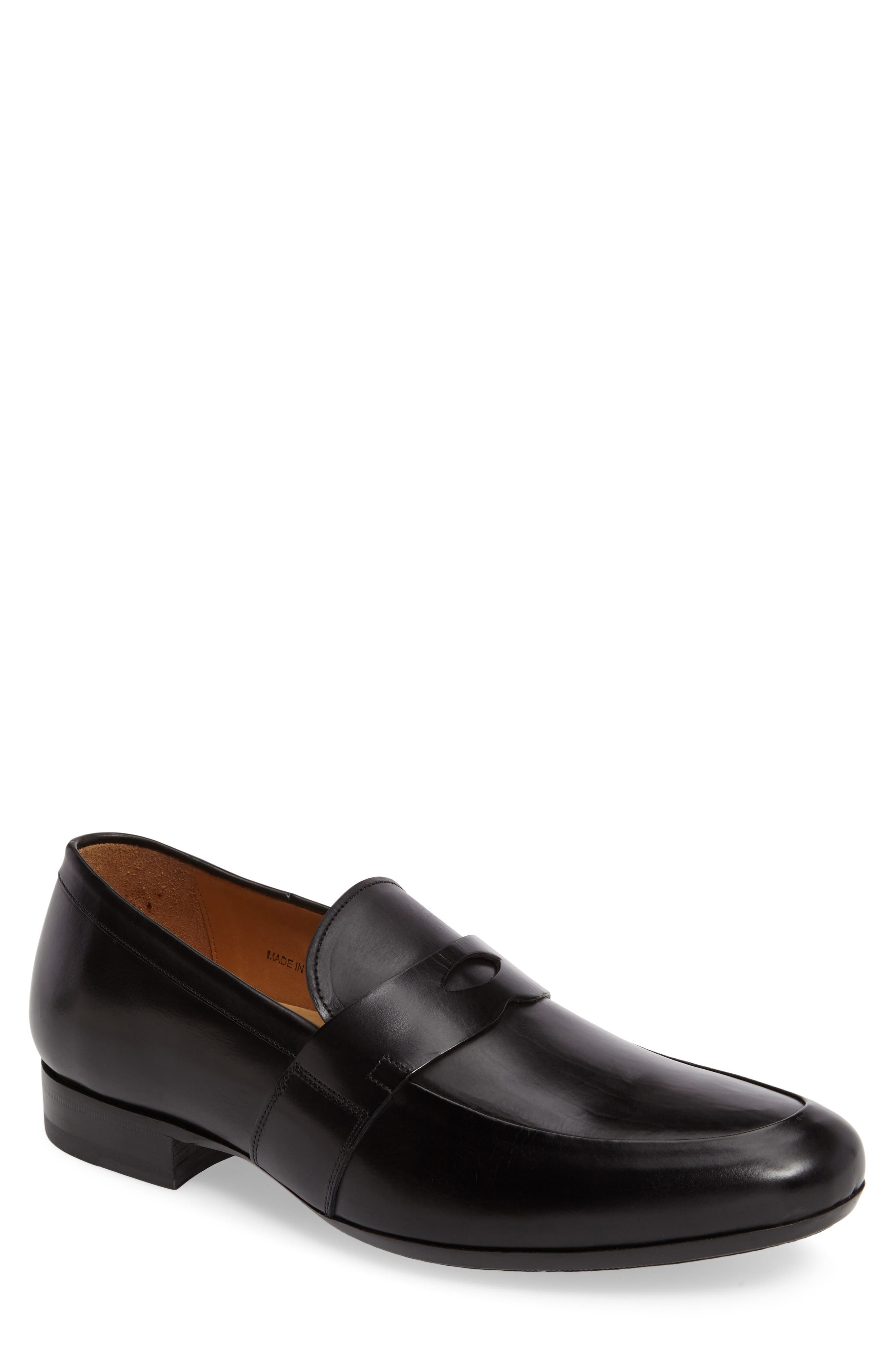 Leopold Penny Loafer,                         Main,                         color, 001