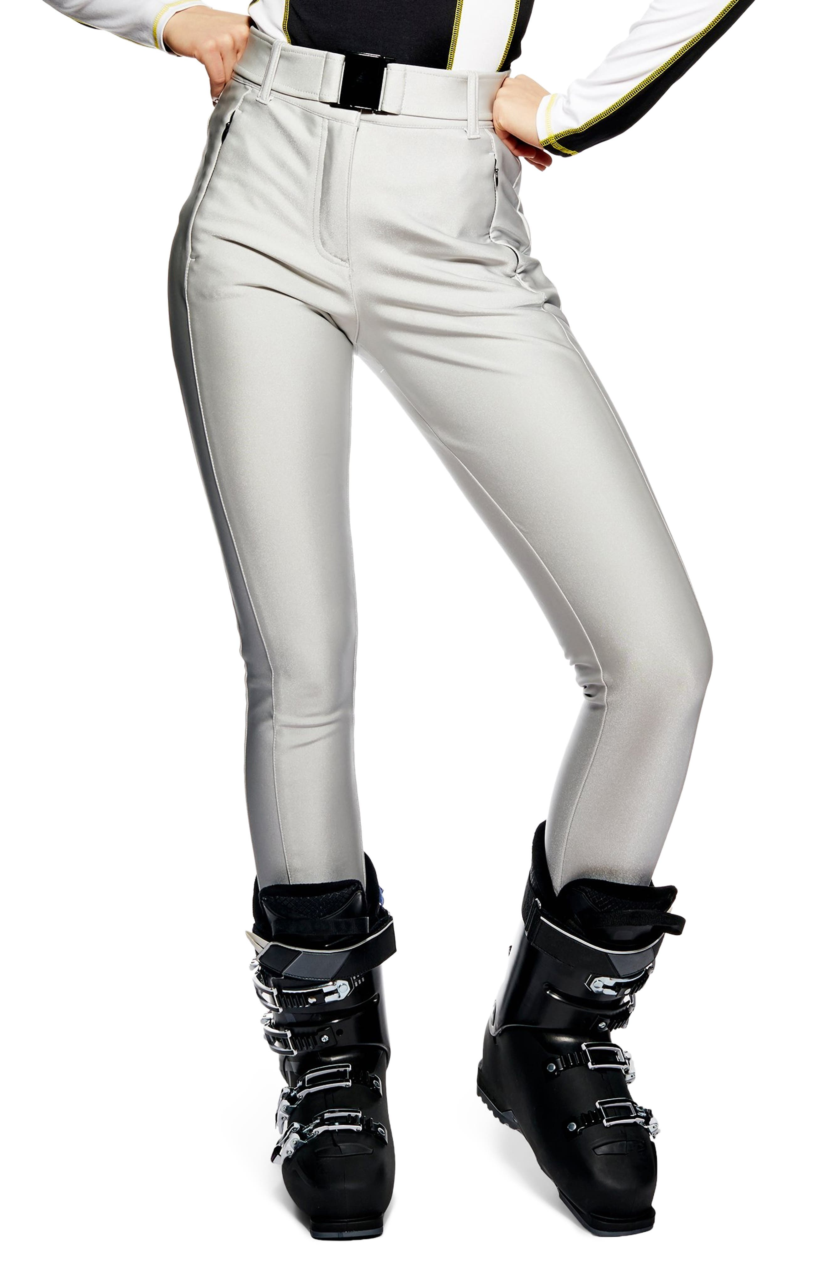 Sno Metallic Alanis Trousers,                             Main thumbnail 1, color,                             SILVER MULTI