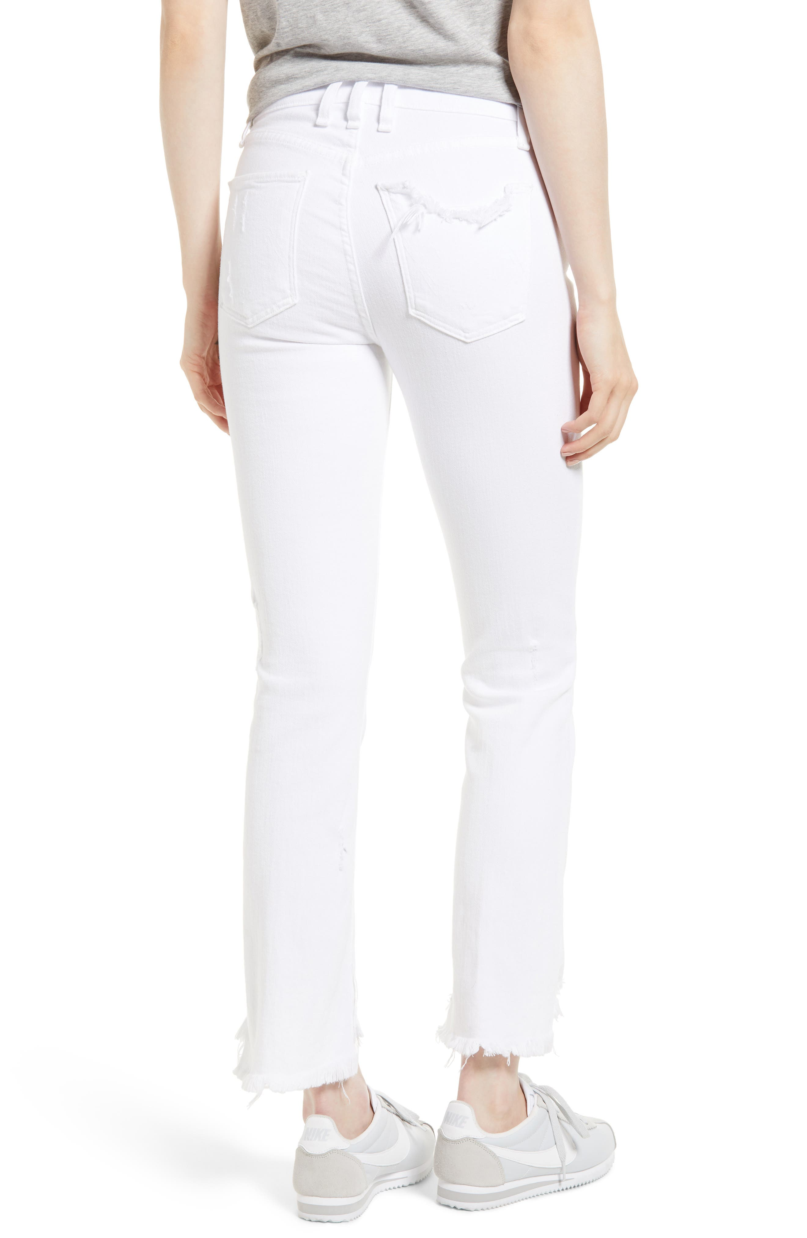 Valetta Step Hem Straight Leg Jeans,                             Alternate thumbnail 2, color,                             SIDARI