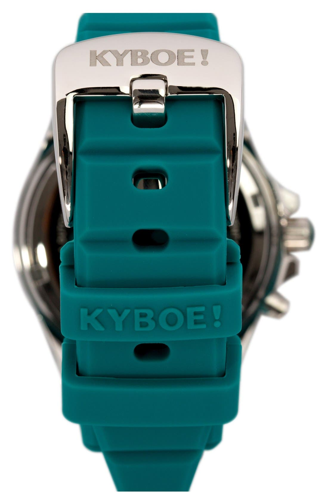 Silicone Strap Watch, 40mm,                             Alternate thumbnail 2, color,                             400