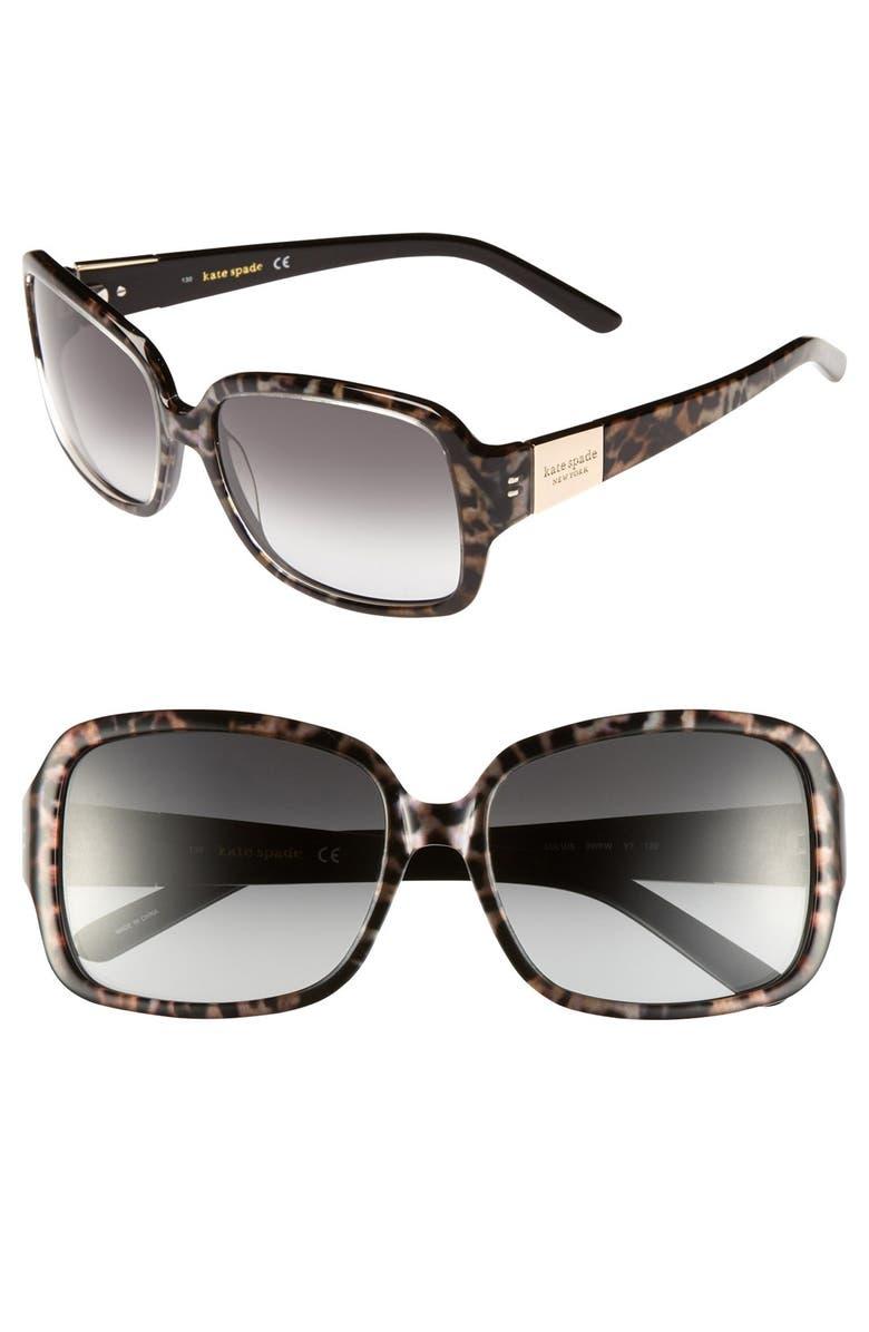 6b79f6b7347 kate spade new york  lulu  55mm rectangular sunglasses