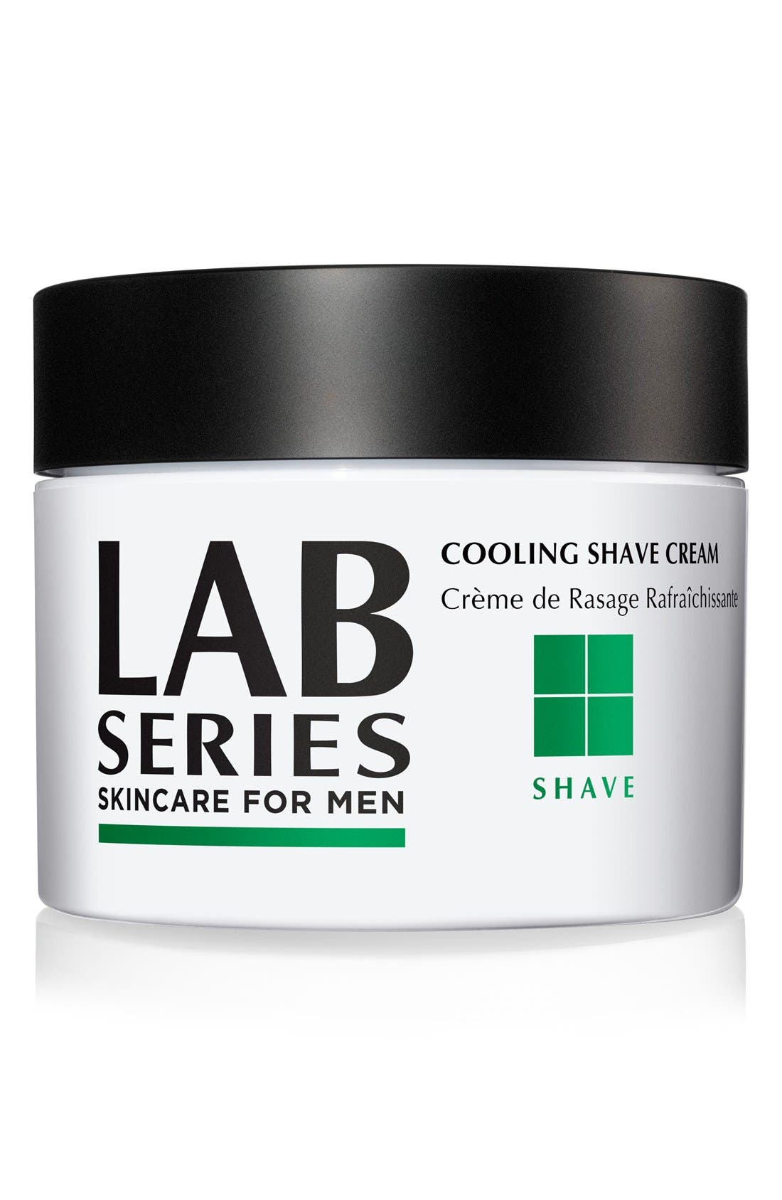 Cooling Shave Cream Jar,                         Main,                         color, NO COLOR