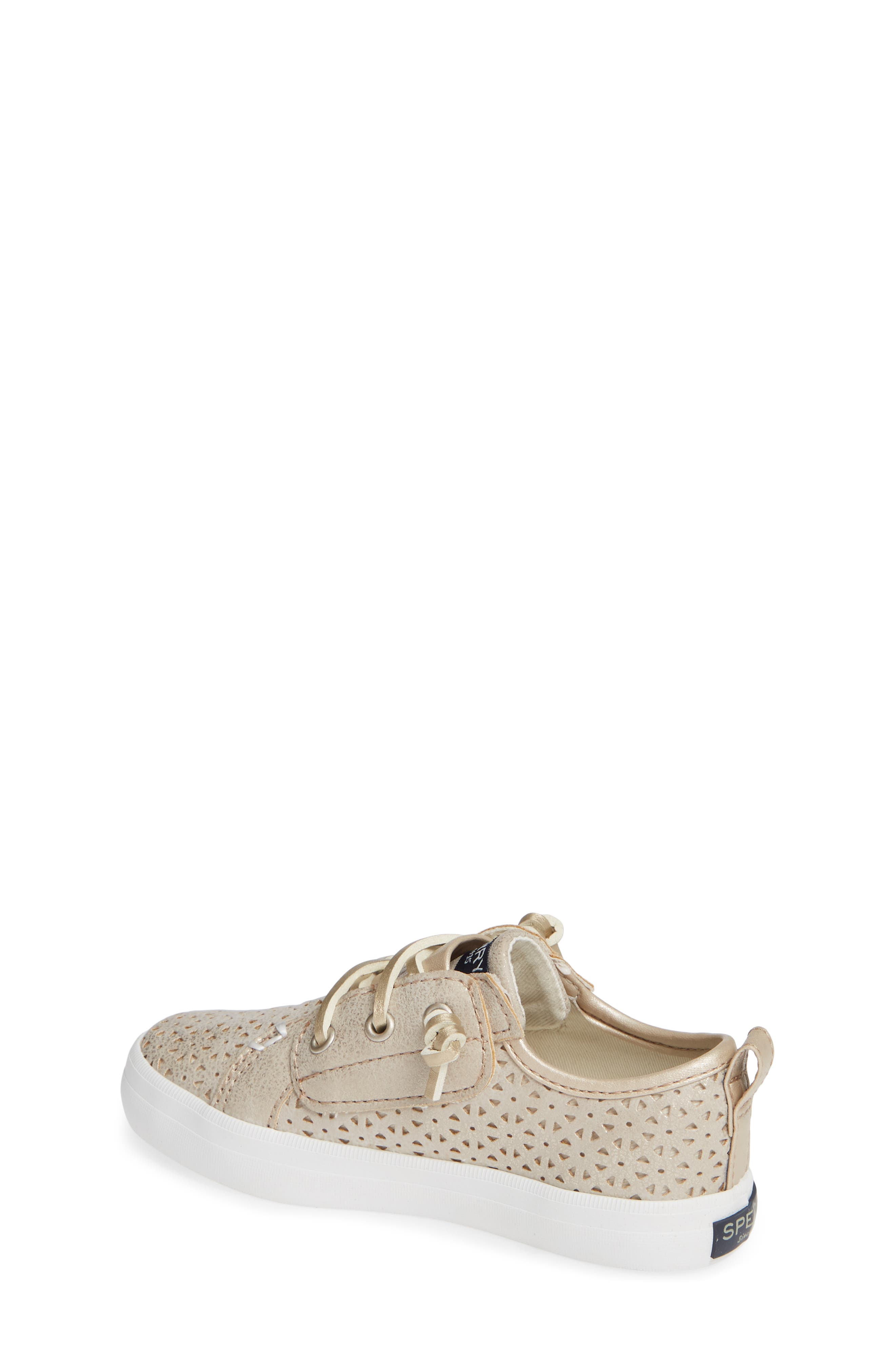 Sperry Crest Vibe Sneaker,                             Alternate thumbnail 2, color,                             CHAMPAGNE SYNTHETIC