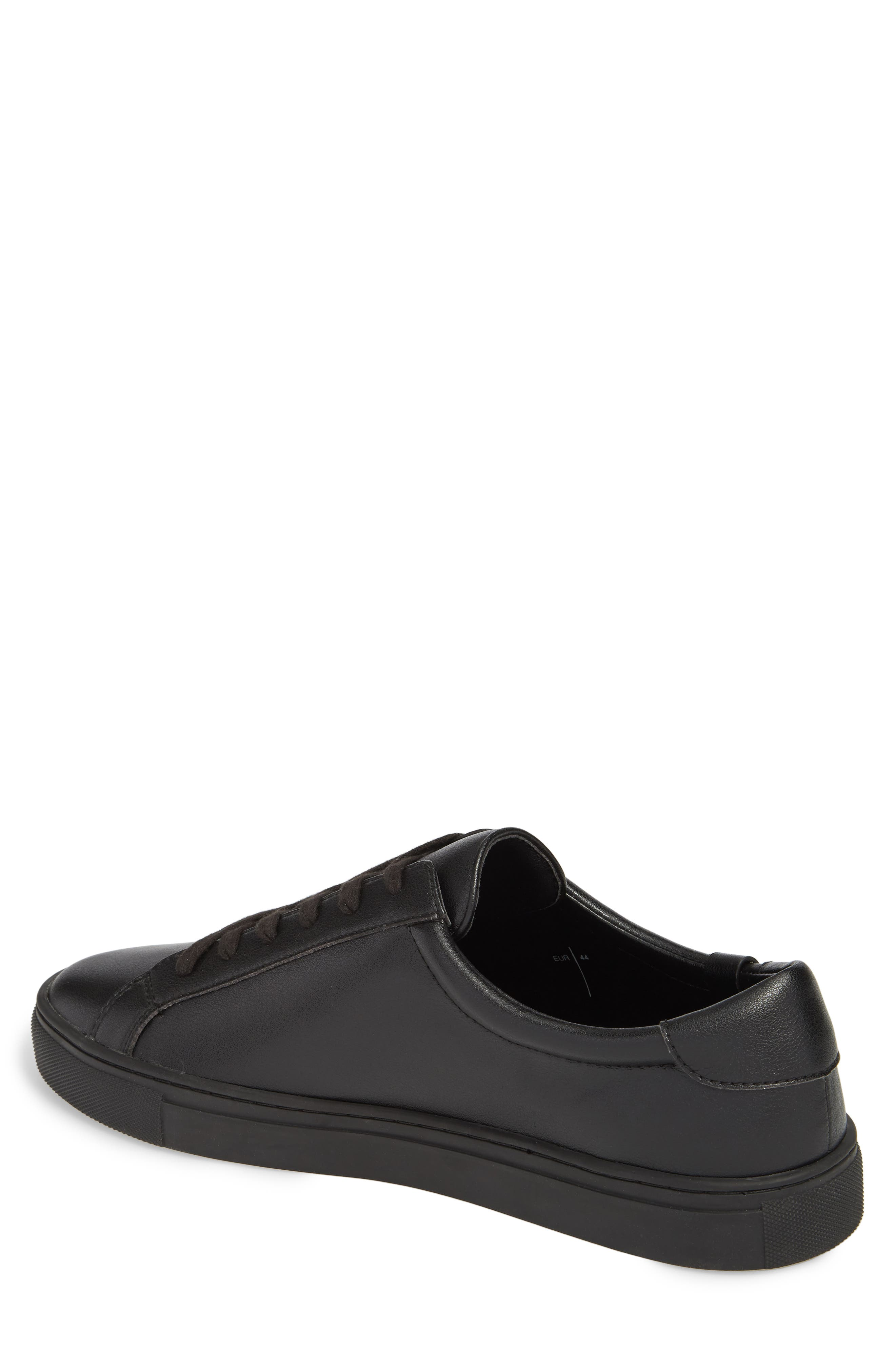 Original Low Top Sneaker,                             Alternate thumbnail 2, color,                             BLACK / BLACK