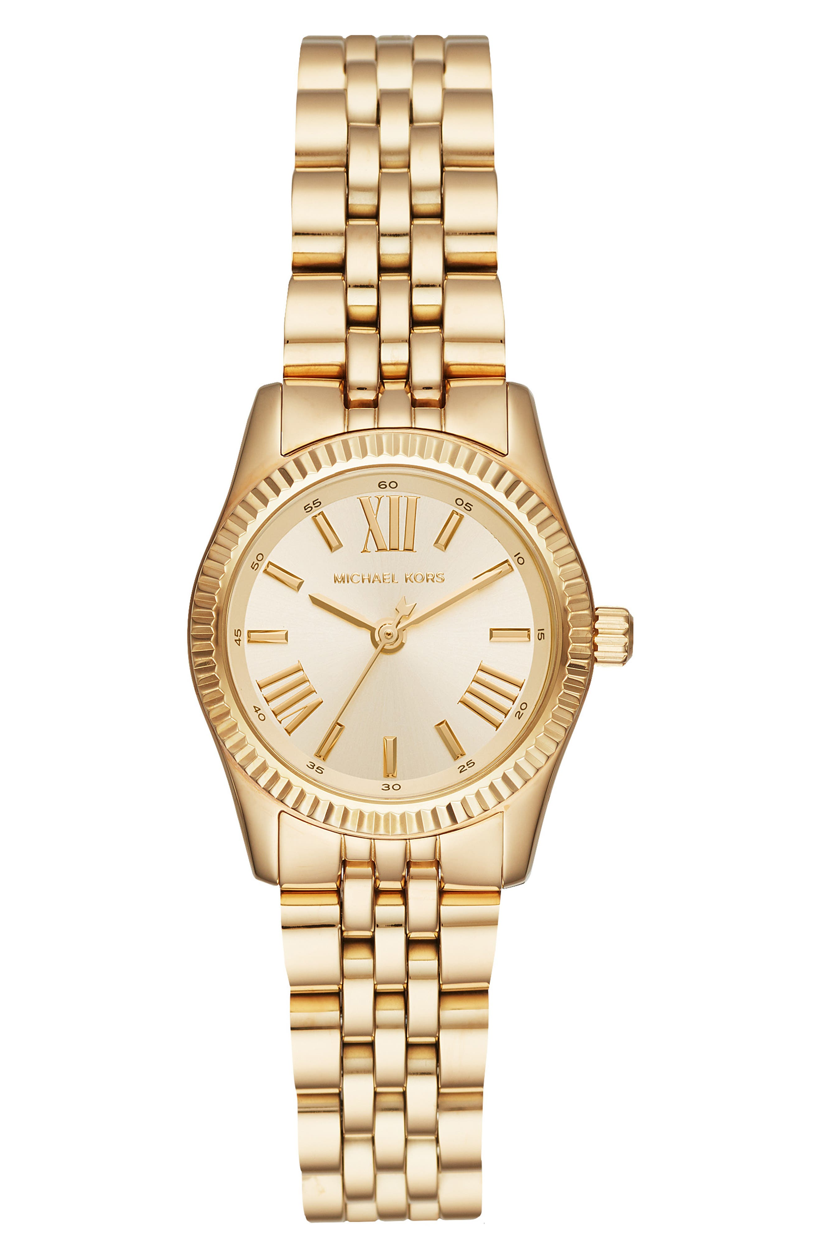 Lexington Bracelet Watch, 26mm,                             Main thumbnail 1, color,                             GOLD
