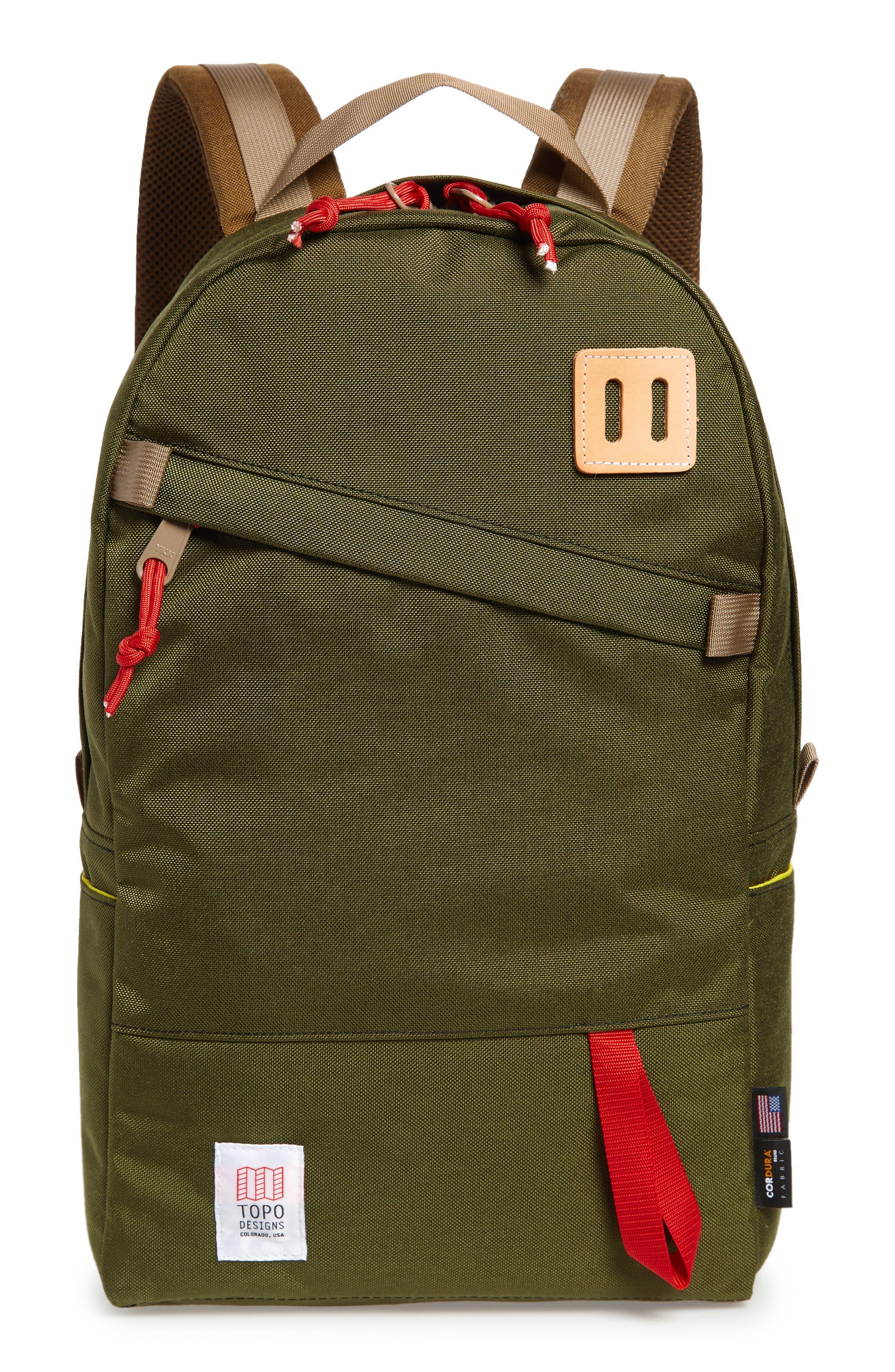 Daypack,                             Main thumbnail 1, color,                             OLIVE