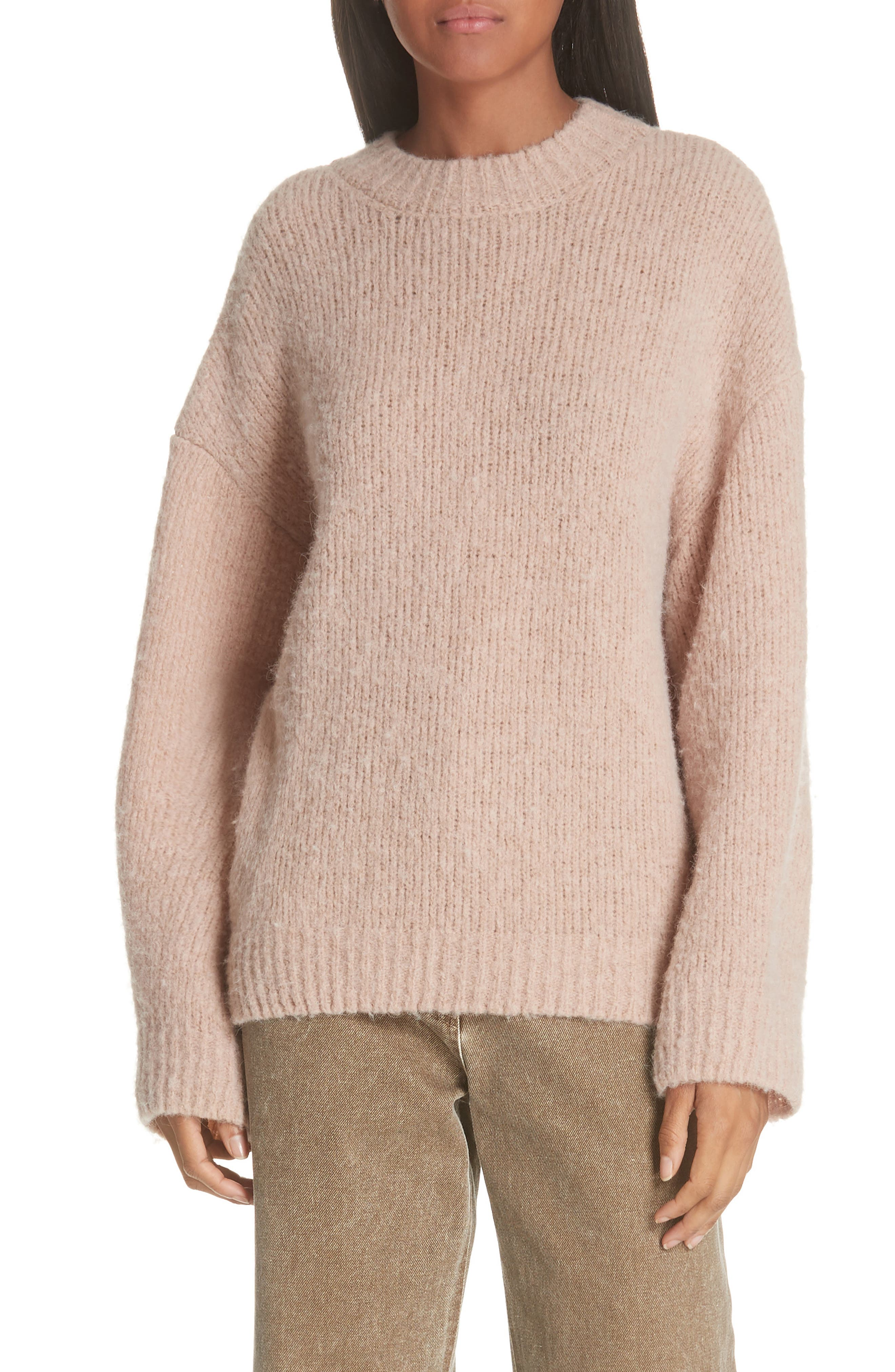 Tuesday Wool & Alpaca Blend Sweater,                         Main,                         color, 681