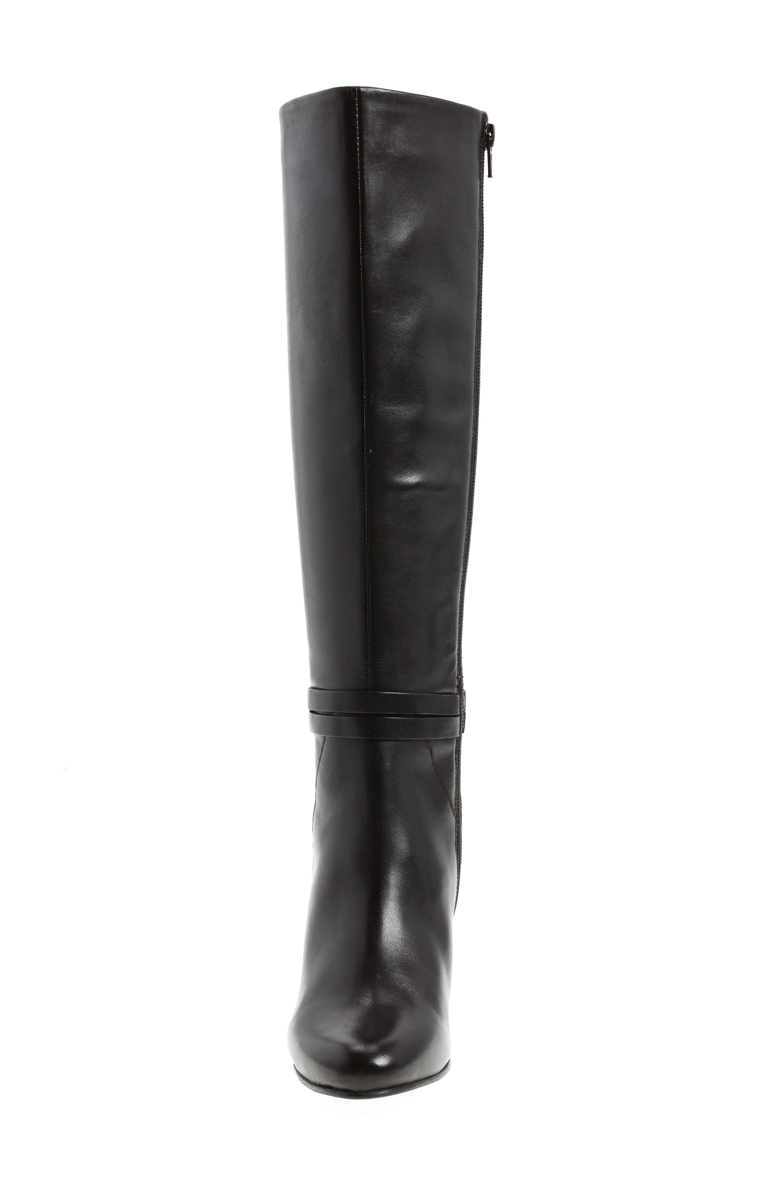 Ovation Knee High Boot,                             Alternate thumbnail 4, color,                             001