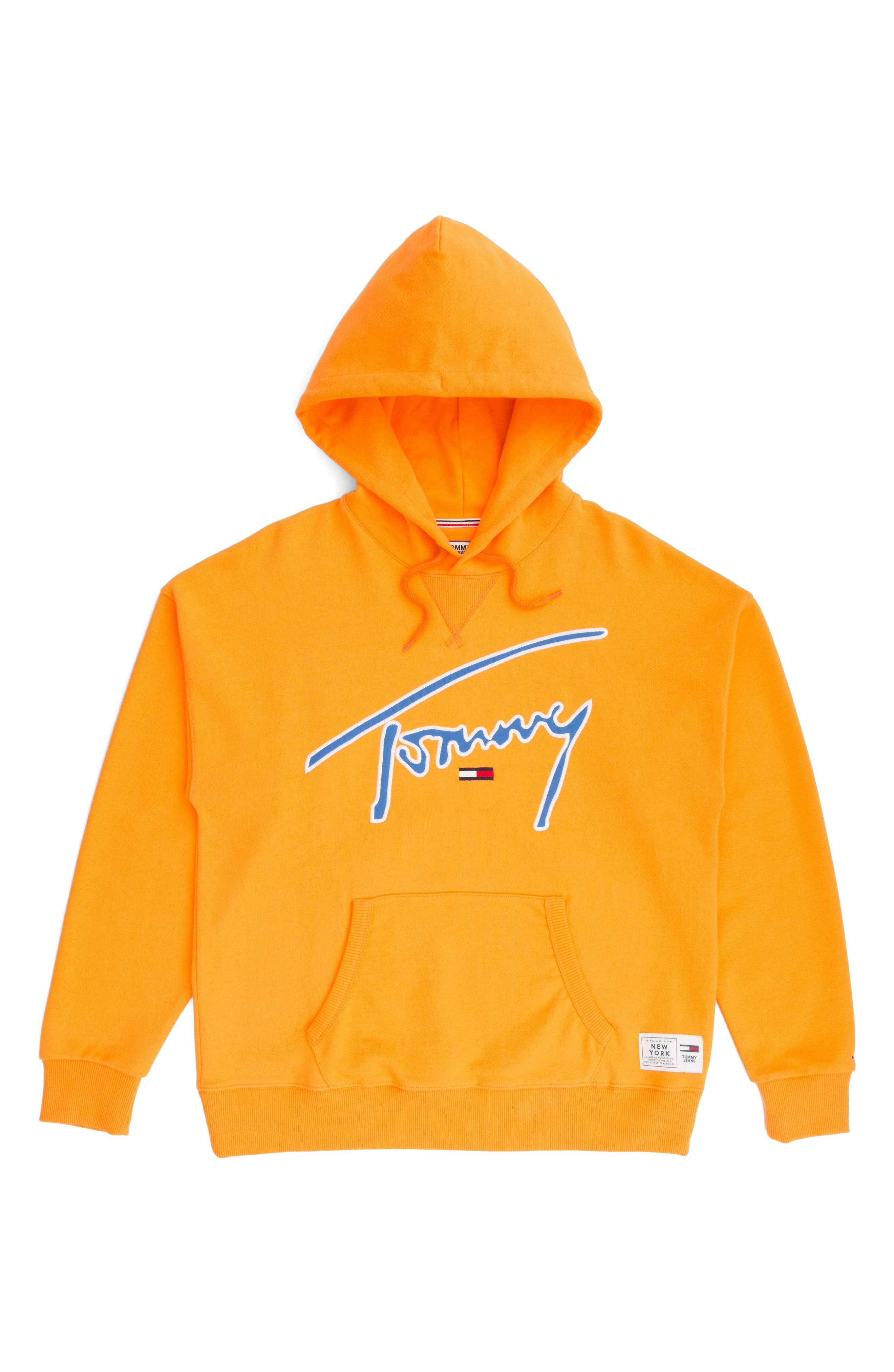 TJW Embroidered Logo Hoodie,                             Alternate thumbnail 4, color,                             803