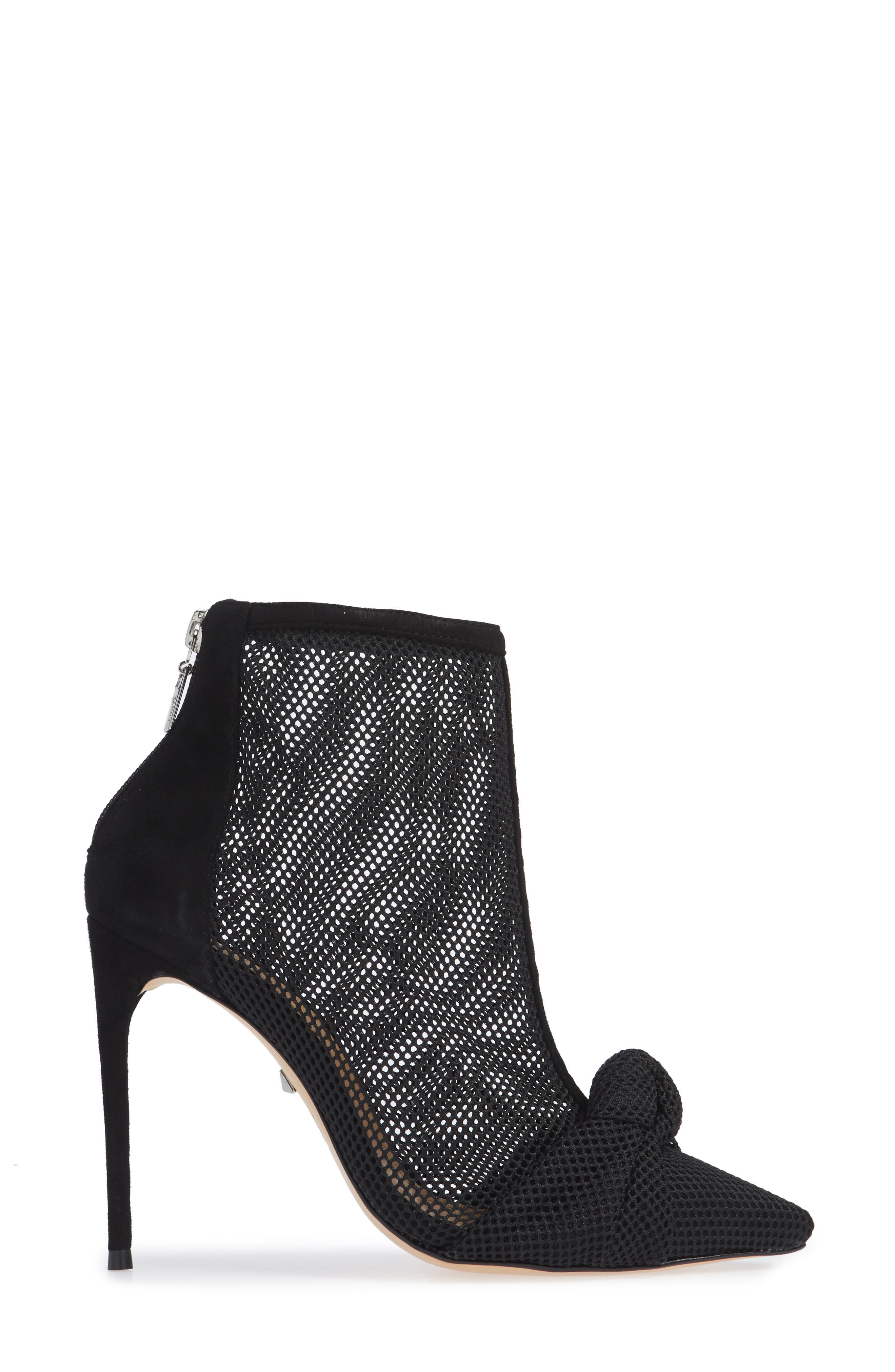 Kessie Pointy Toe Boot,                             Alternate thumbnail 3, color,                             001