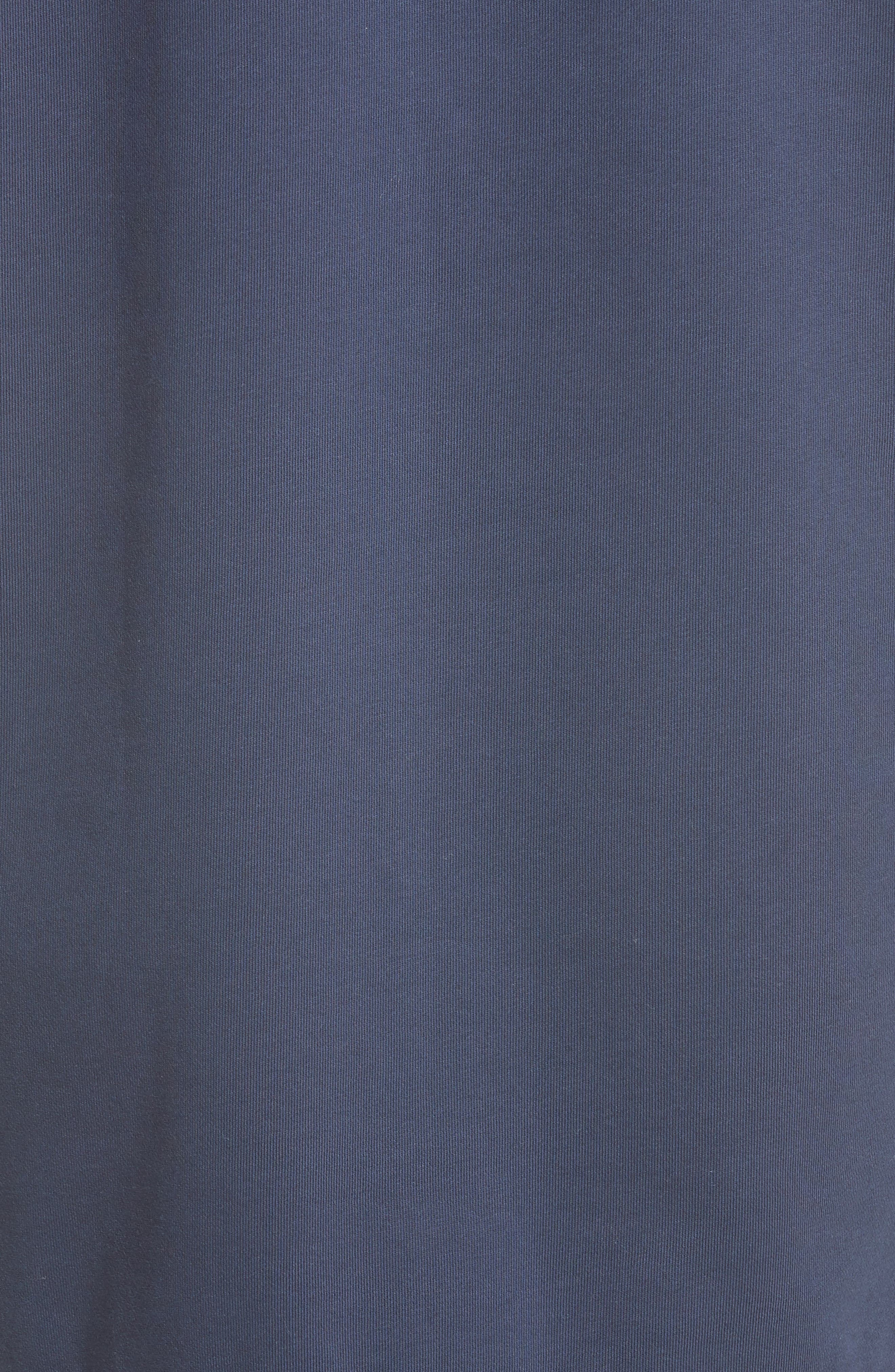 Tesa Lace Trim Sweatshirt Dress,                             Alternate thumbnail 6, color,                             400