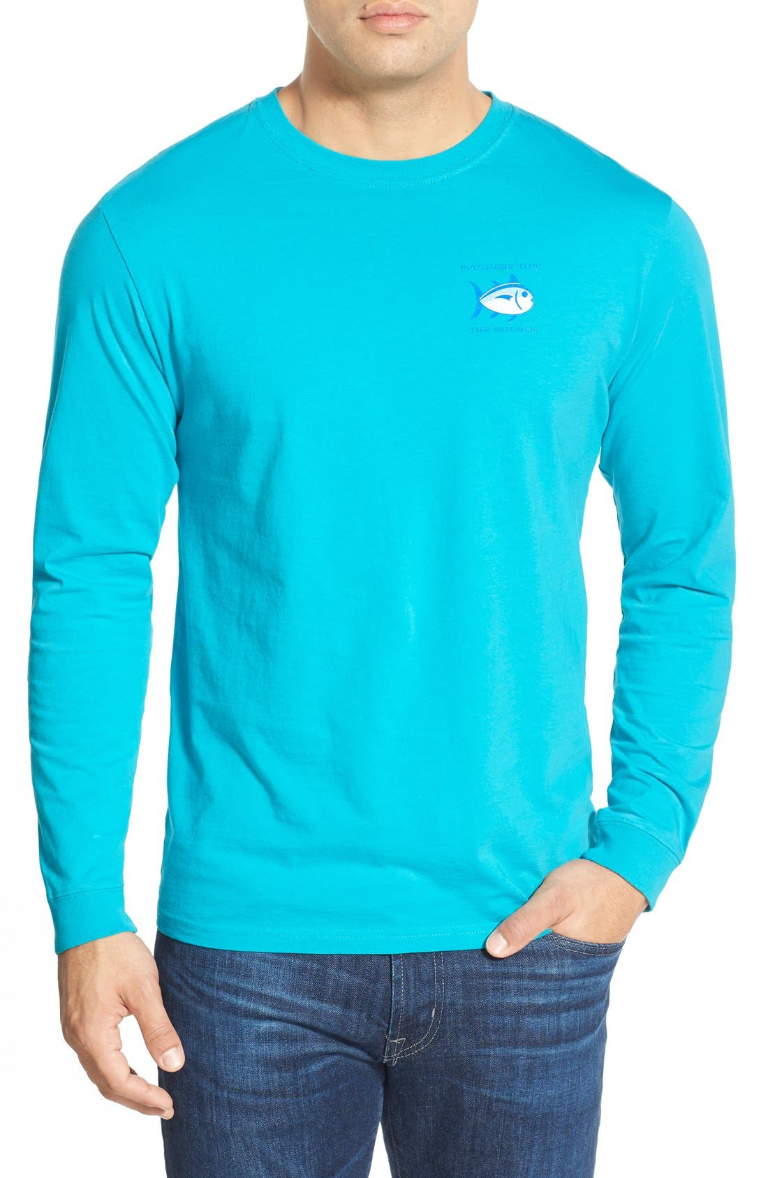 'Skipjack'Long Sleeve Graphic T-Shirt,                             Alternate thumbnail 50, color,