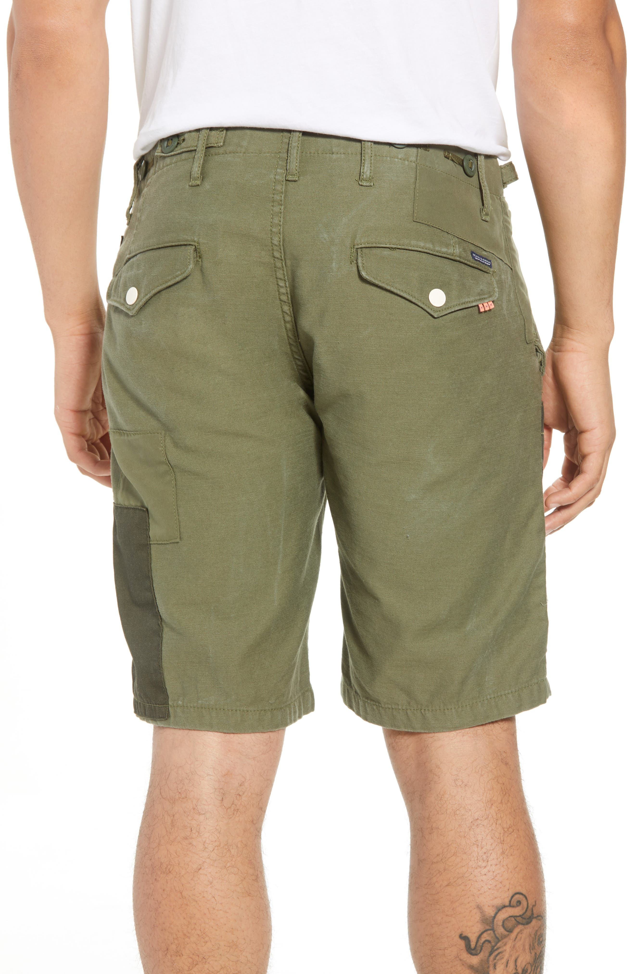 Cargo Shorts,                             Alternate thumbnail 2, color,                             GREEN