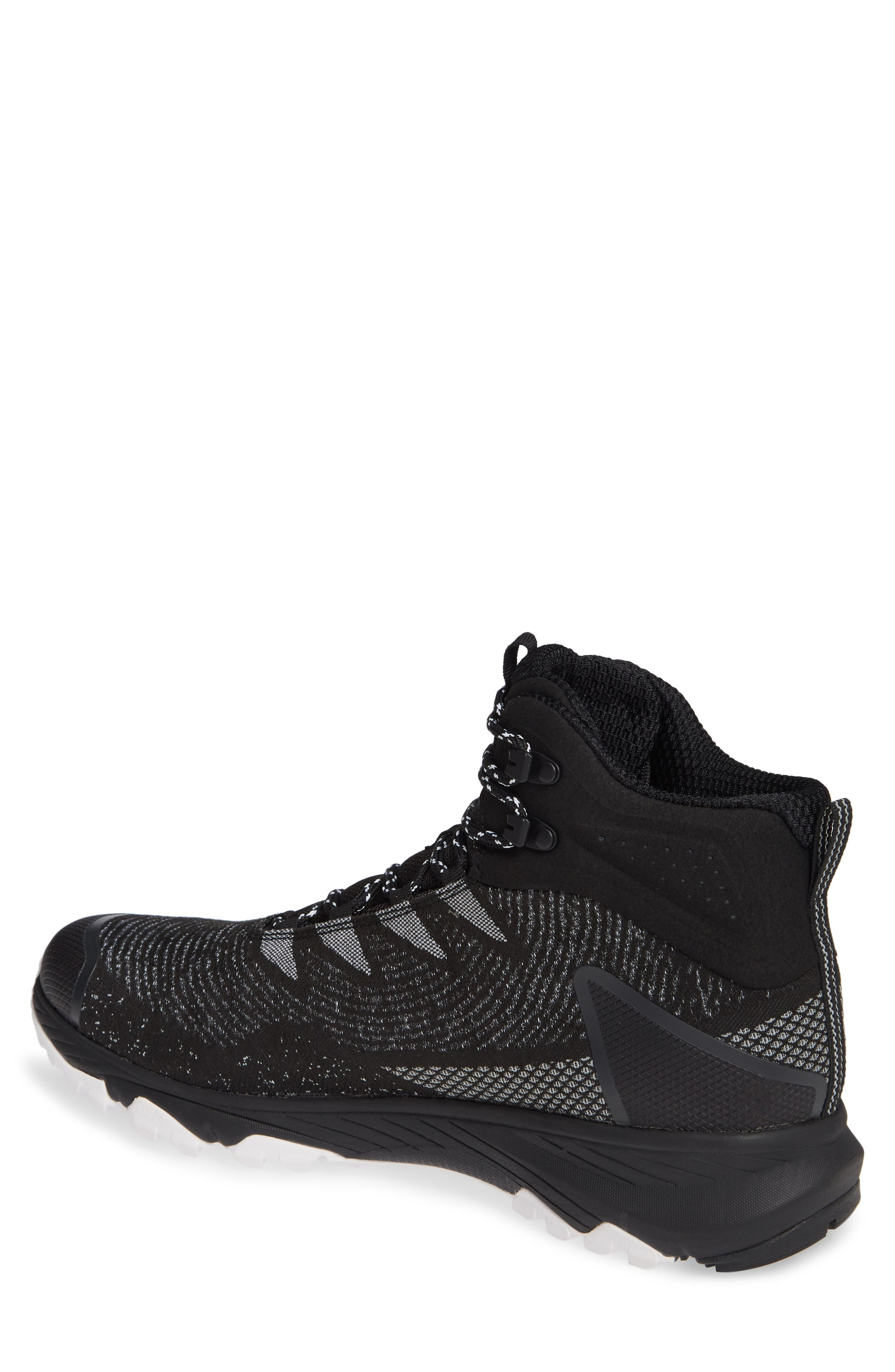 Ultra Fastpack III Mid Gore-Tex<sup>®</sup> Hiking Boot,                             Alternate thumbnail 2, color,                             BLACK/ WHITE