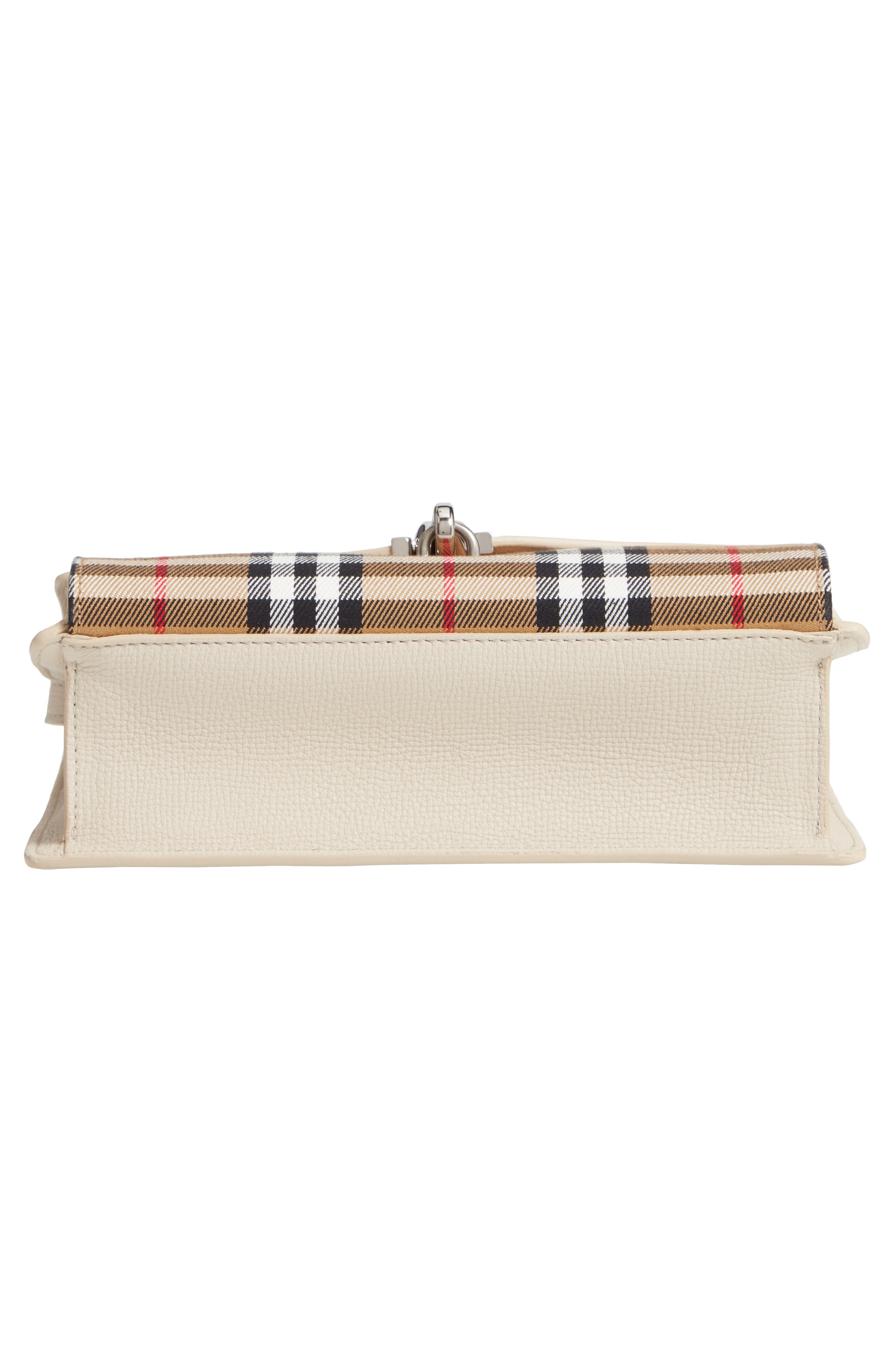 Small Macken Vintage Check Crossbody Bag,                             Alternate thumbnail 6, color,                             LIMESTONE