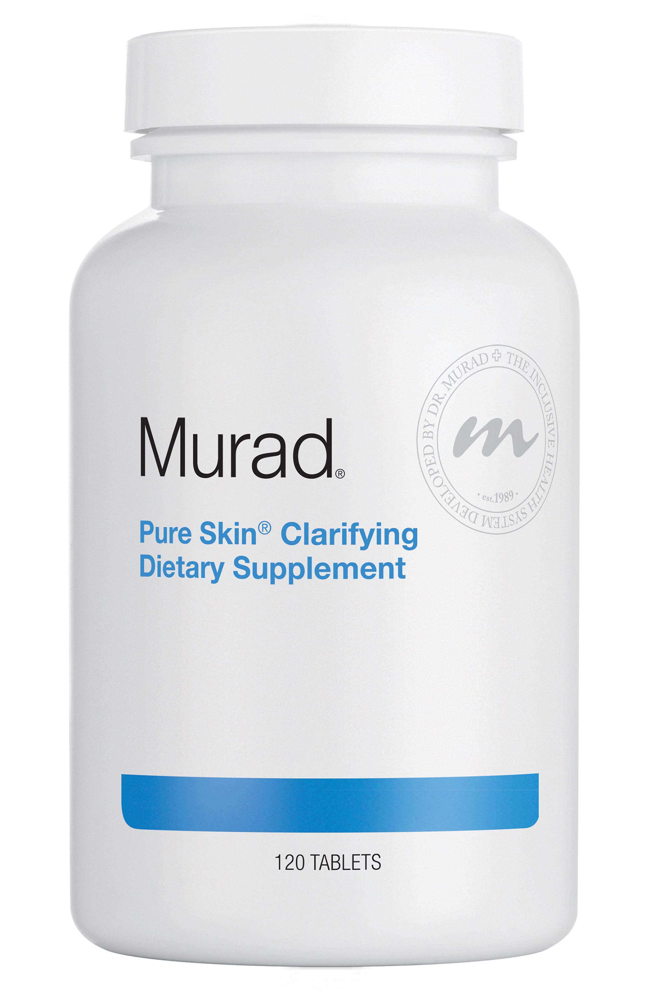 Pure Skin<sup>®</sup> Clarifying Dietary Supplement,                             Main thumbnail 1, color,                             NO COLOR