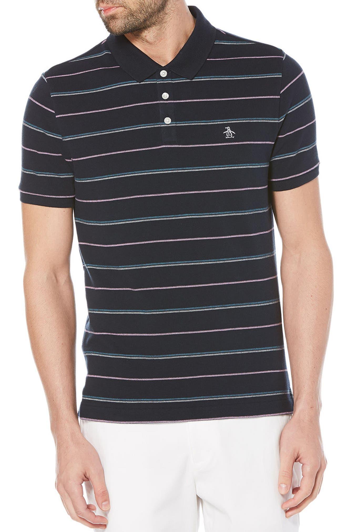 Feeder Stripe Polo,                         Main,                         color, 413