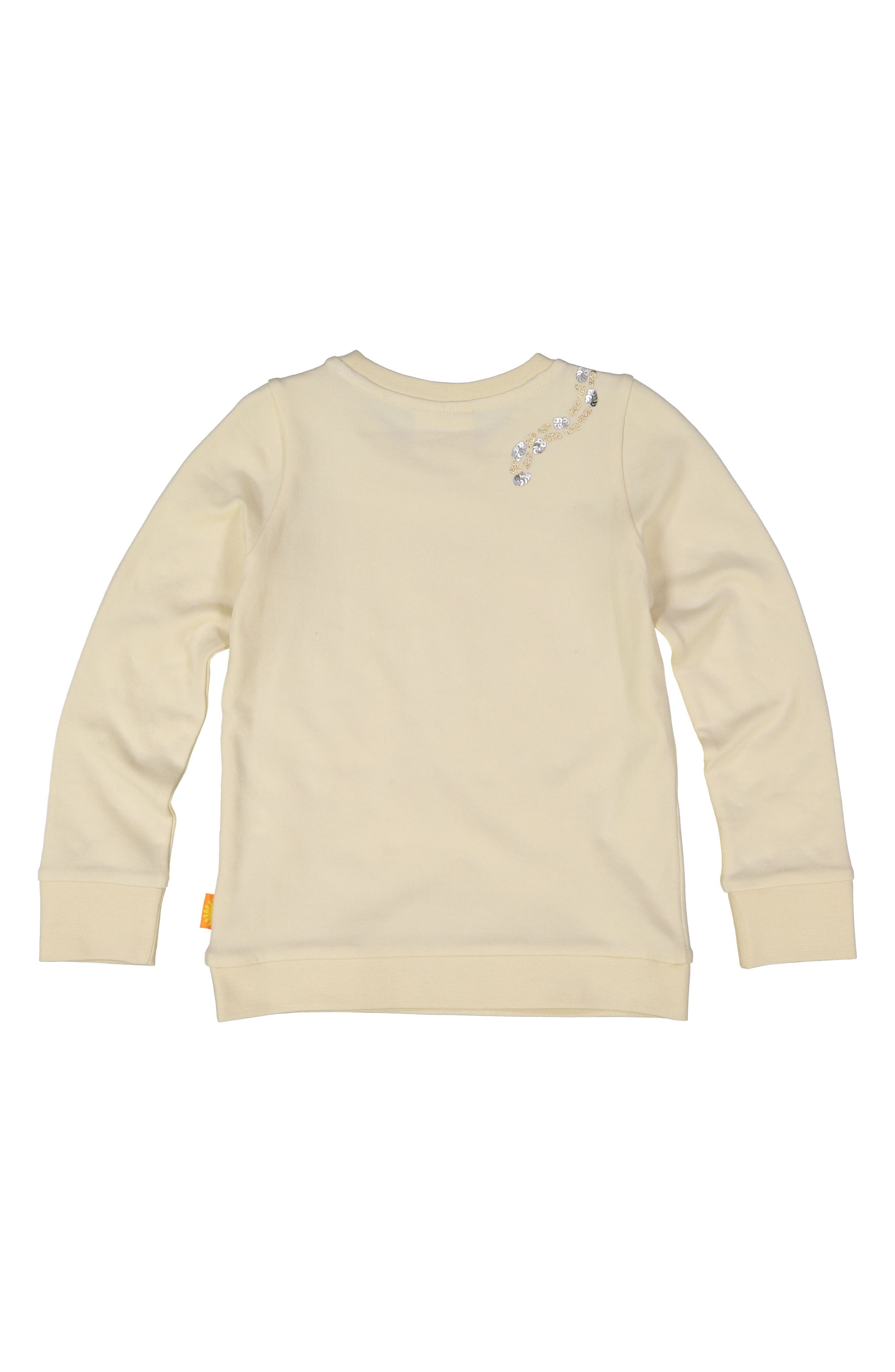 Cheetah Organic Cotton Sweatshirt,                             Alternate thumbnail 2, color,                             100