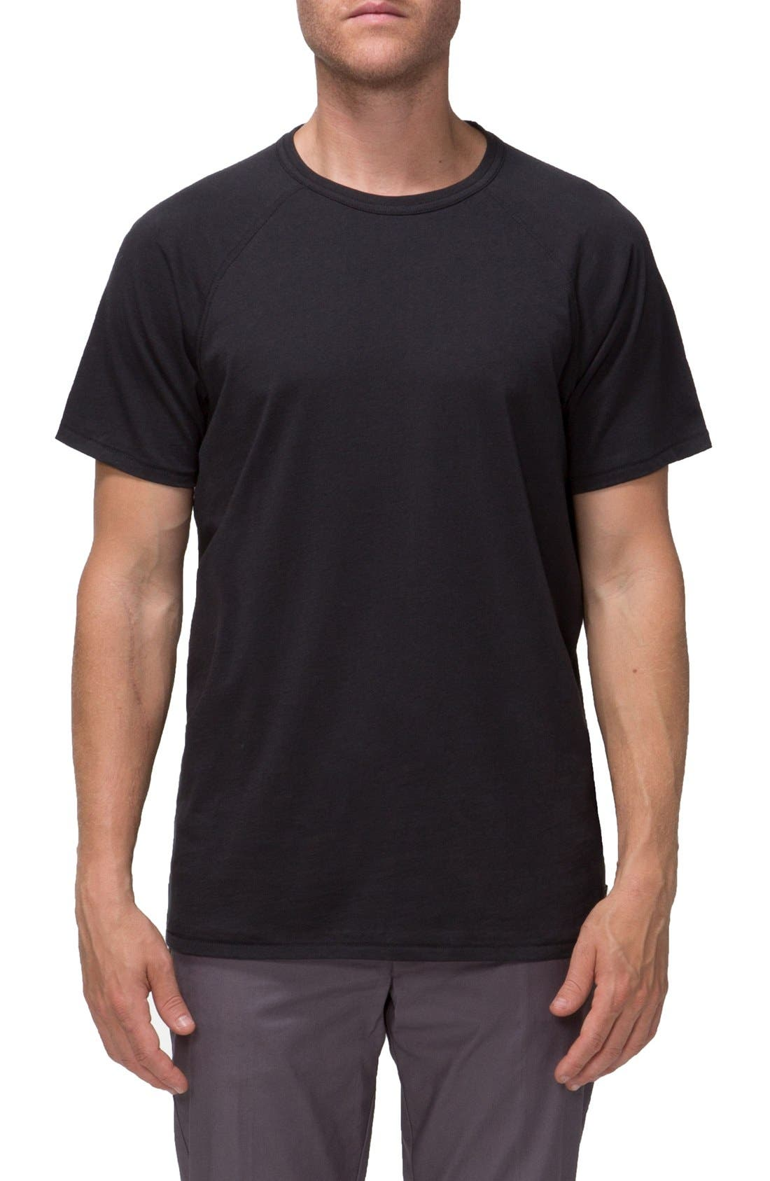 'Covert II' Raglan T-Shirt,                         Main,                         color, 001