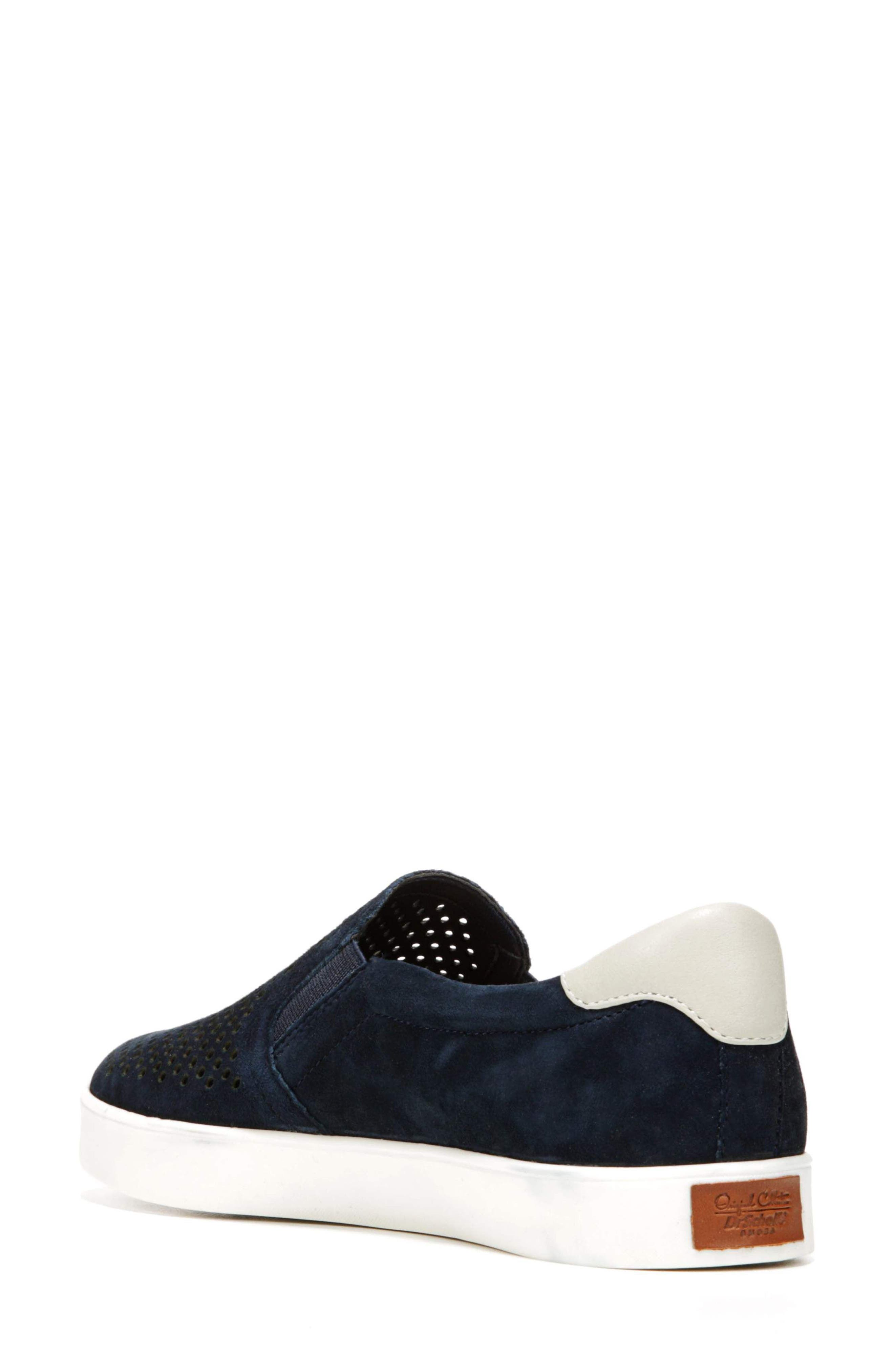Original Collection 'Scout' Slip On Sneaker,                             Alternate thumbnail 2, color,                             NAVY SUEDE