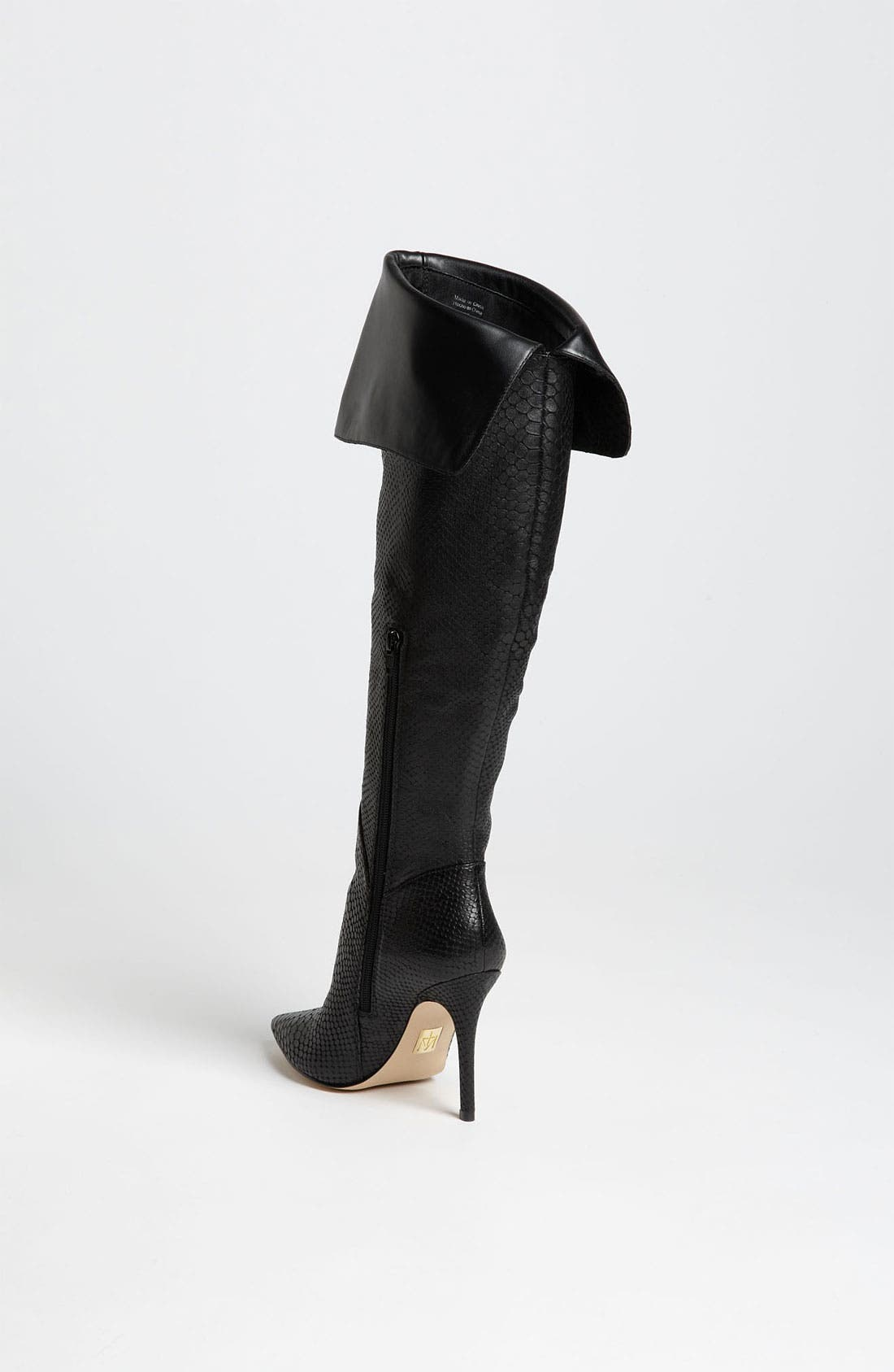 TRUTH OR DARE BY MADONNA,                             'Gia' Over the Knee Boot,                             Alternate thumbnail 4, color,                             002