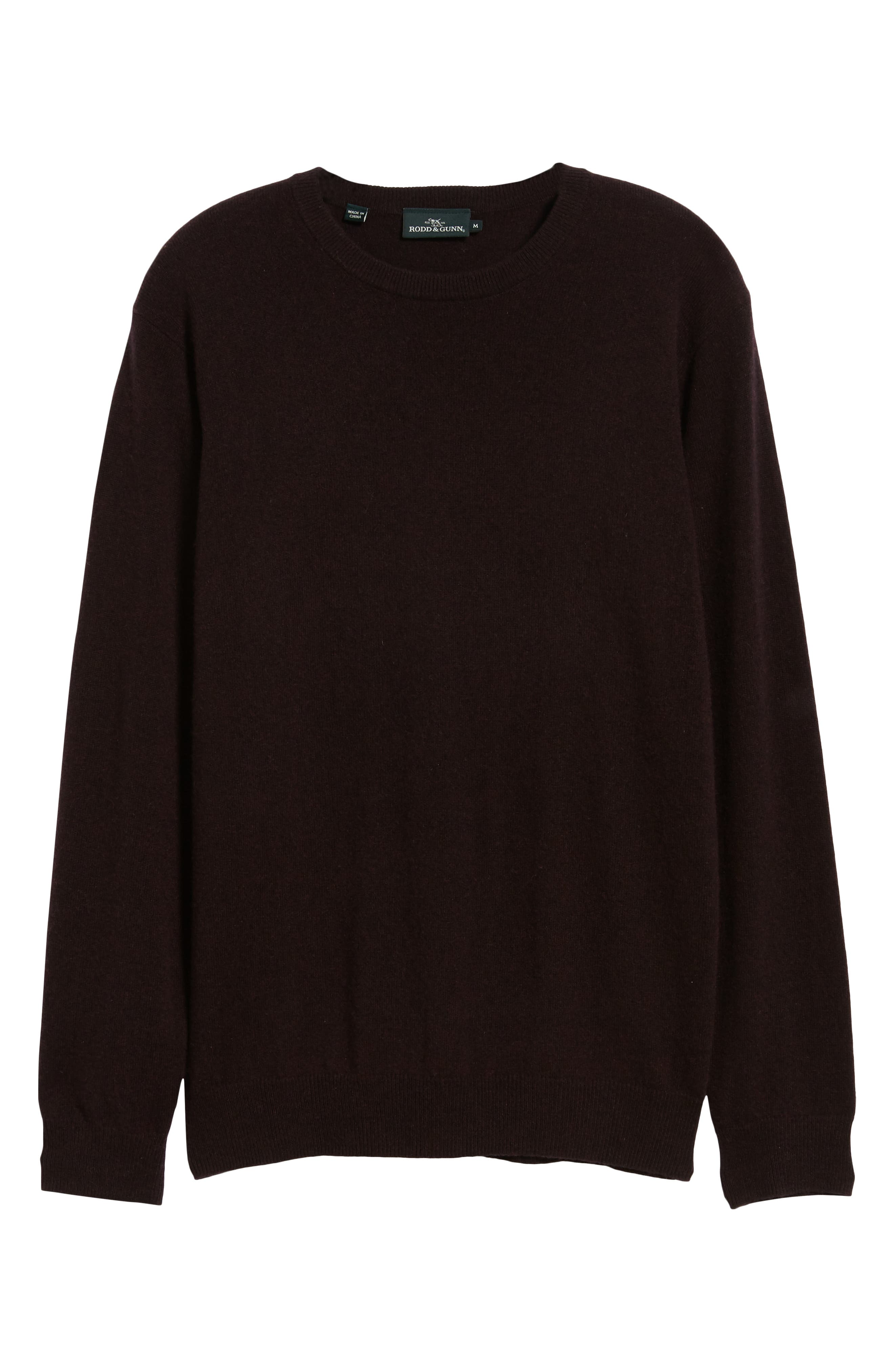 Queenstown Wool & Cashmere Sweater,                             Alternate thumbnail 6, color,                             BLACK FIG