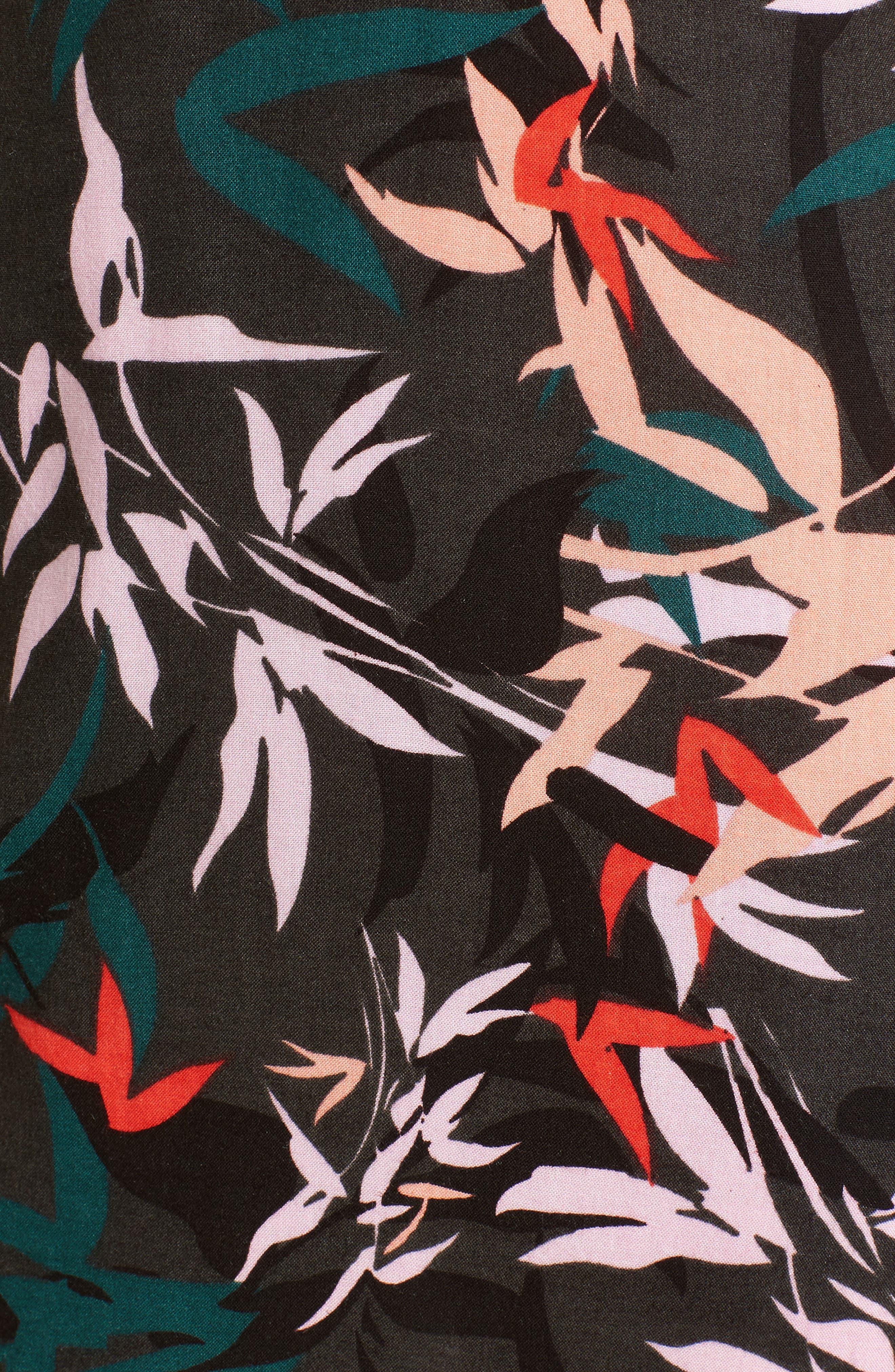 Calyx Cowl Neck Dress,                             Alternate thumbnail 5, color,