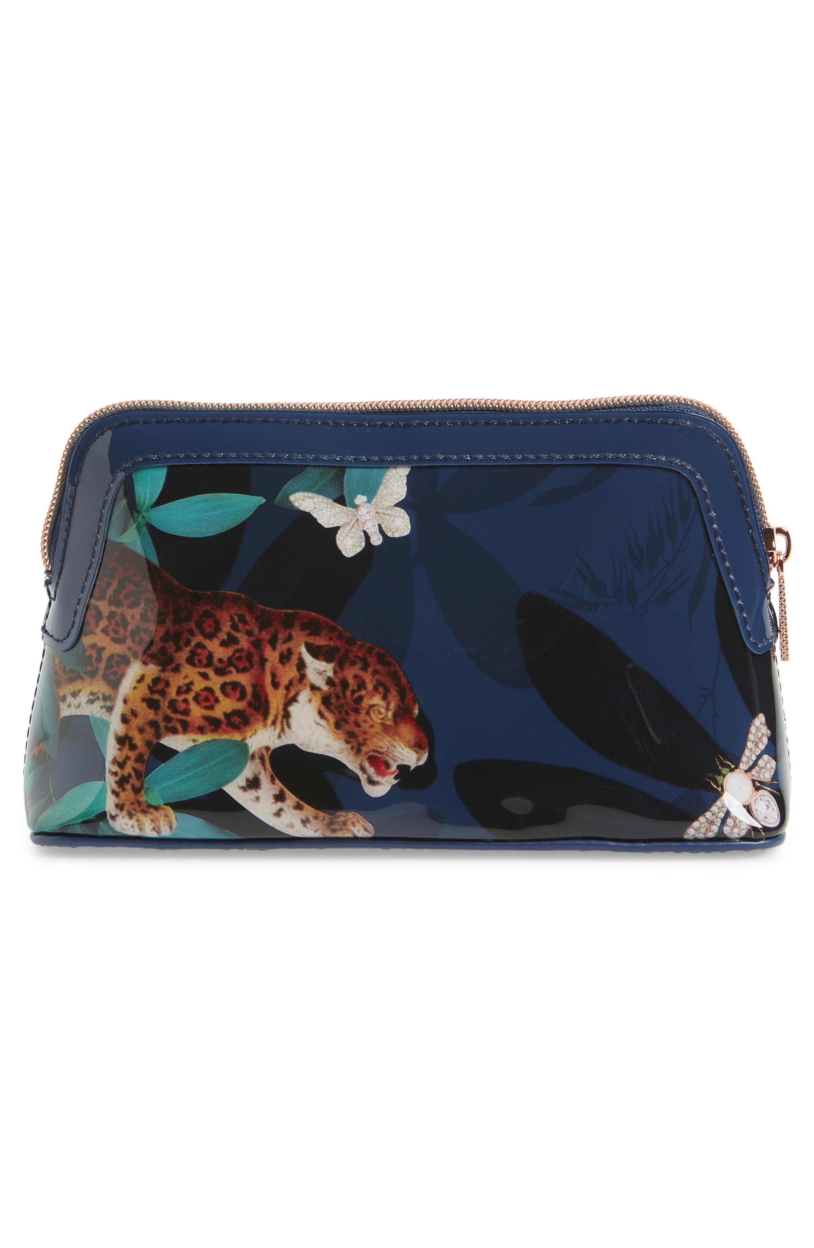Libert Houdini Cosmetics Case,                             Alternate thumbnail 2, color,                             NAVY
