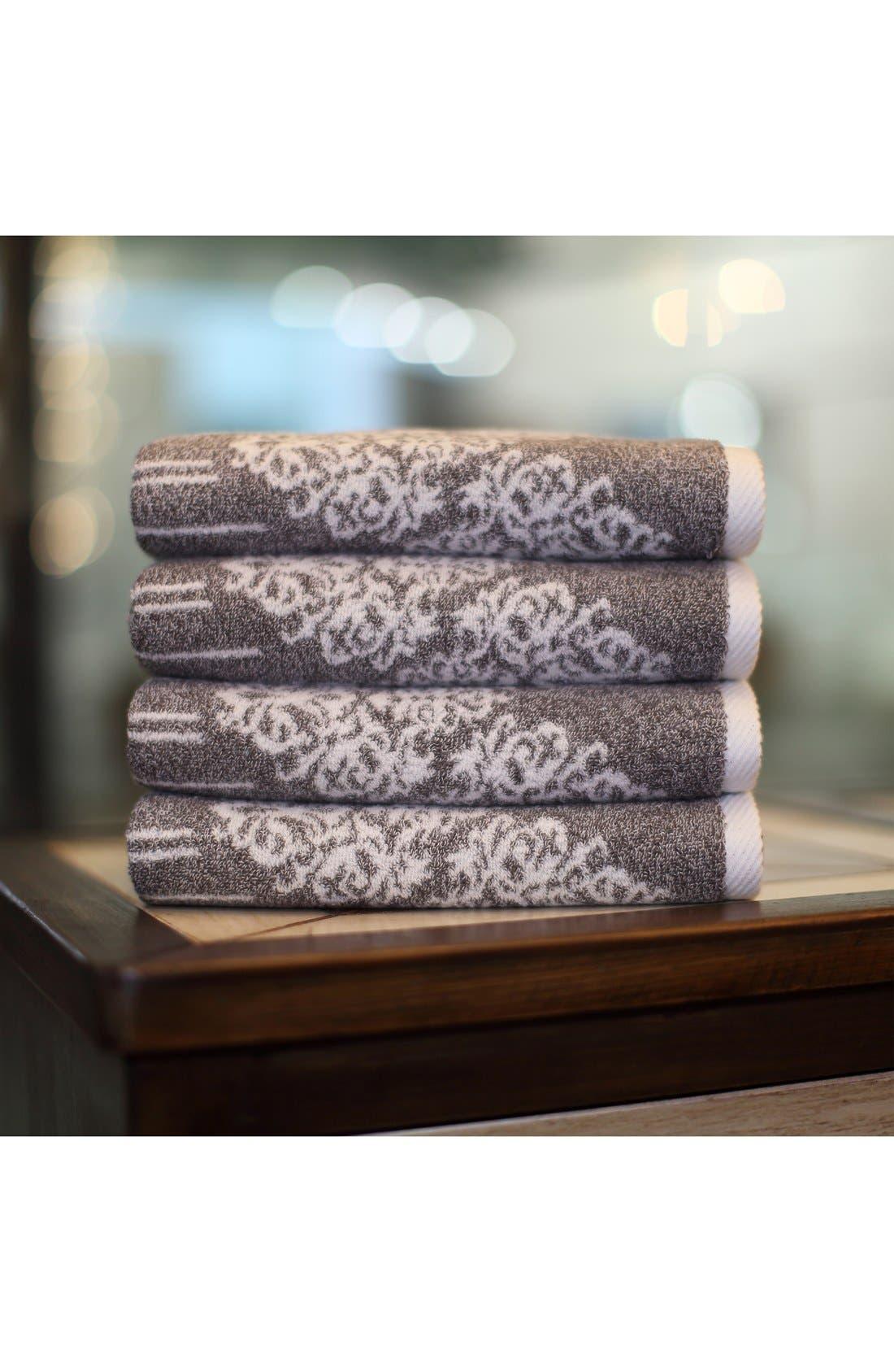 Linum 'Gioia' Turkish Cotton Hand Towels,                             Alternate thumbnail 2, color,                             200
